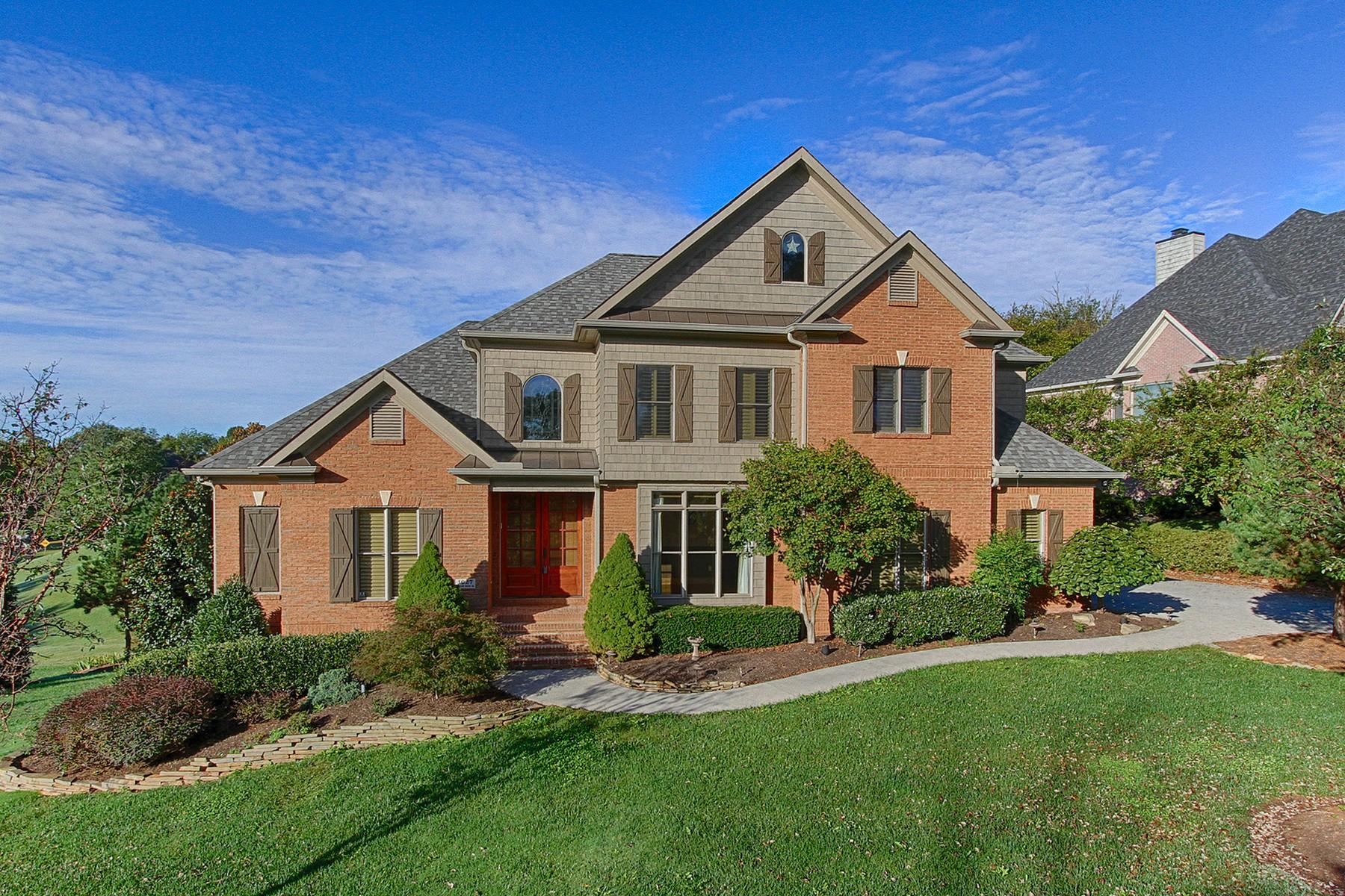 Vivienda unifamiliar por un Venta en Magnificent Home in Gettysvue 1027 Shadow Brook Dr Knoxville, Tennessee, 37922 Estados Unidos
