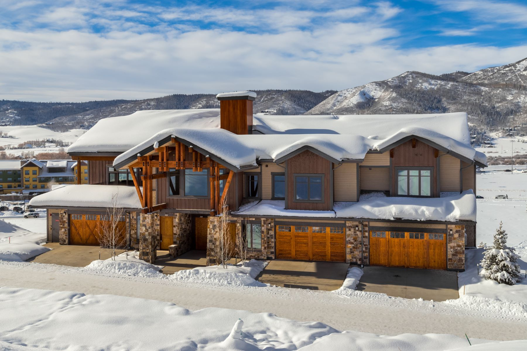 Additional photo for property listing at Chadwick Flats 1275 Eagle Glen Dr. Unit 200 Steamboat Springs, Colorado 80487 United States