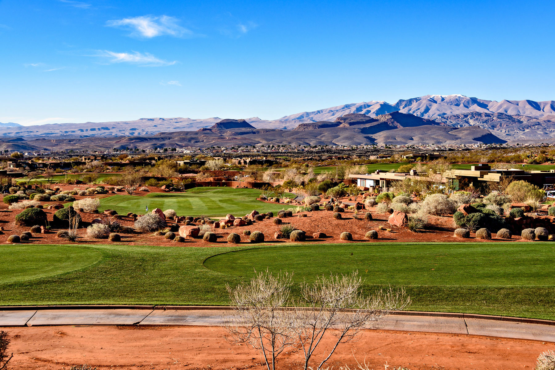 Terreno per Vendita alle ore Golf Course and Mountain Views 2331 W Entrada Trail #67 St. George, Utah, 84770 Stati Uniti