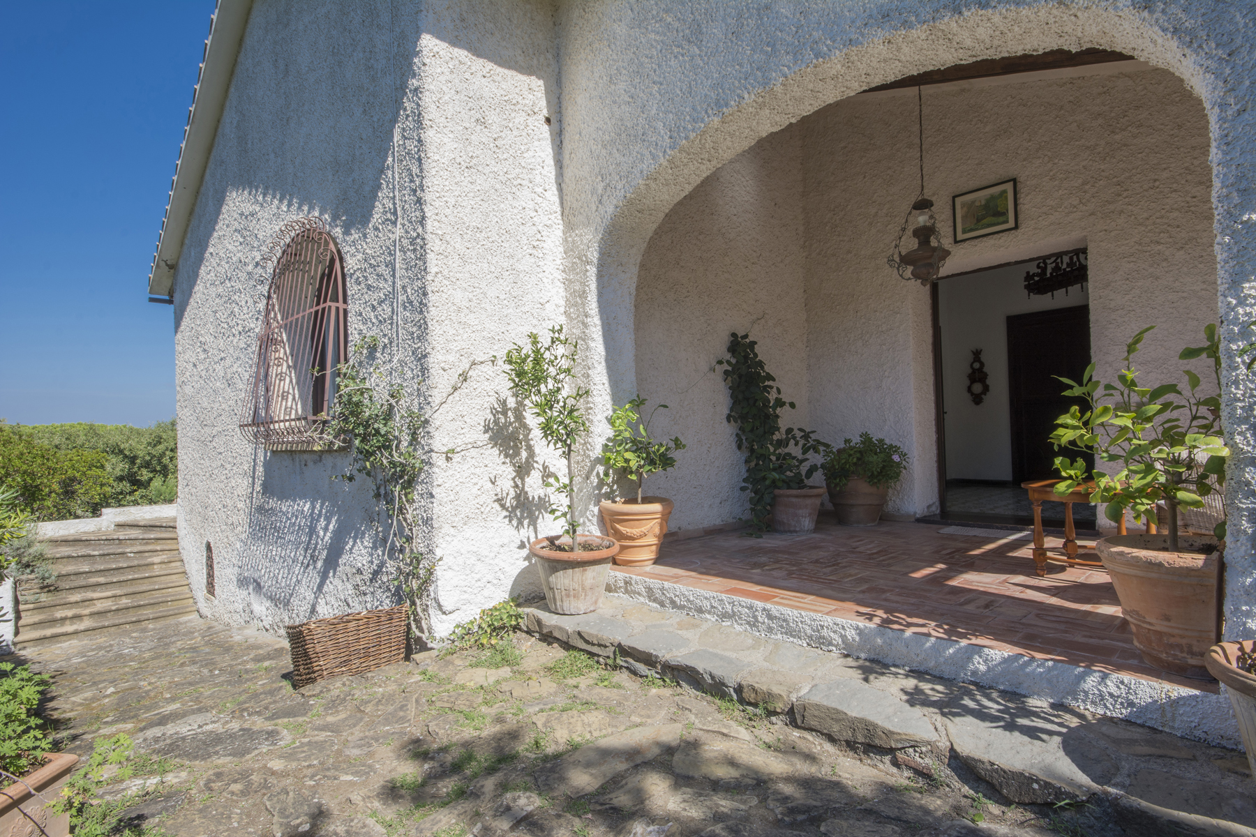 Additional photo for property listing at Charmante villa avec vue imprenable sur la mer Punta Ala, Grosseto Italie