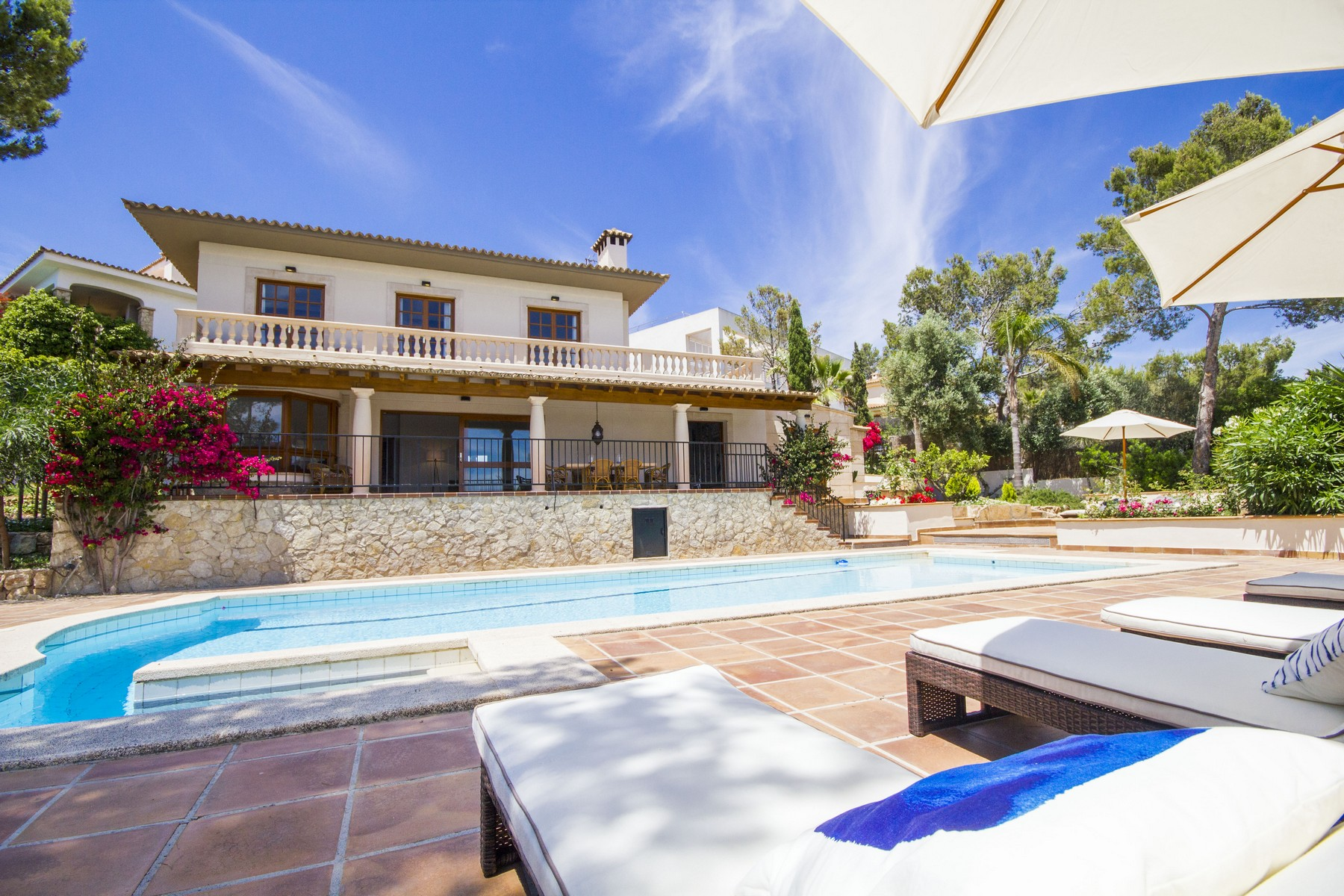 独户住宅 为 出租 在 Comfortable villa in Cas Catala Cas Catala, 马洛卡 07180 西班牙