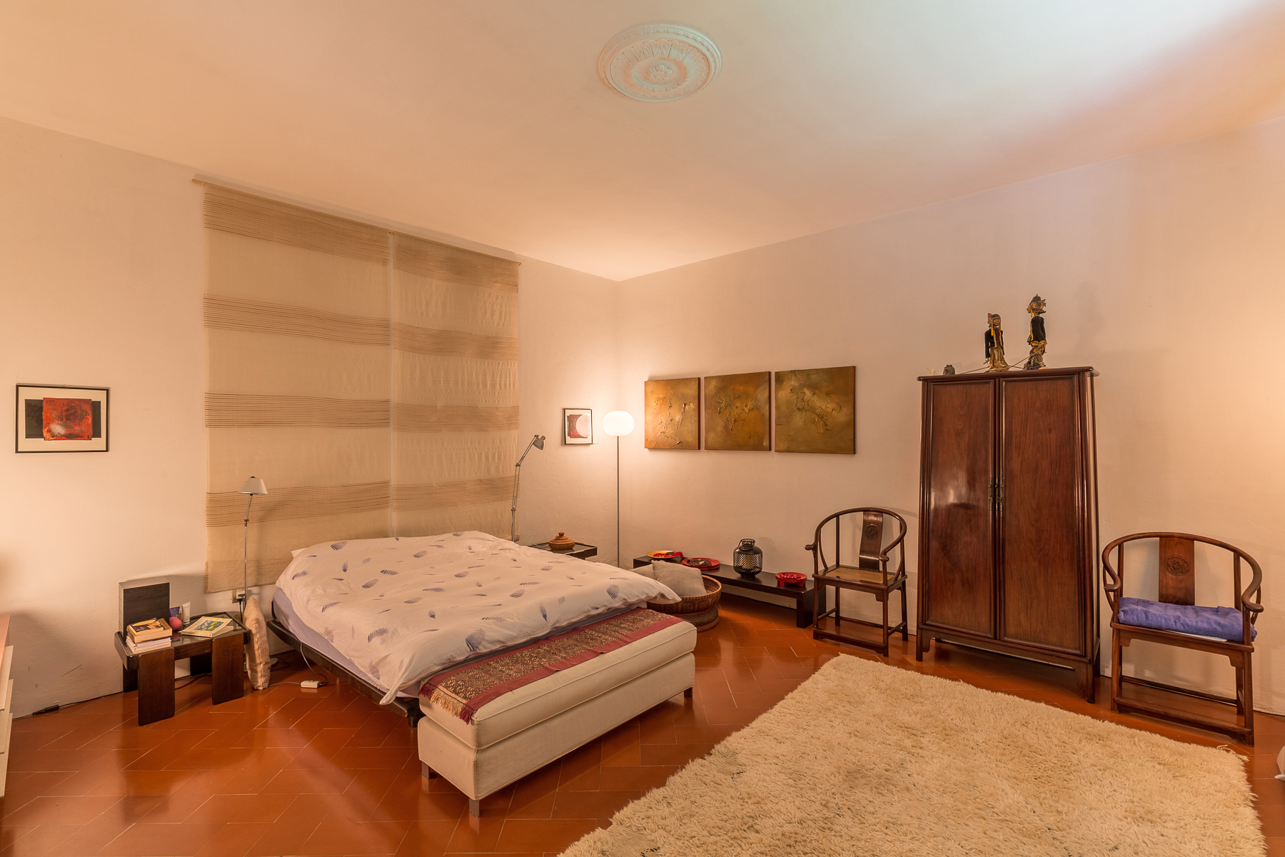Additional photo for property listing at Luminoso appartamento con giardino privato e vista mozzafiato su Firenze Via della Lastra Firenze, Firenze 50139 Italia
