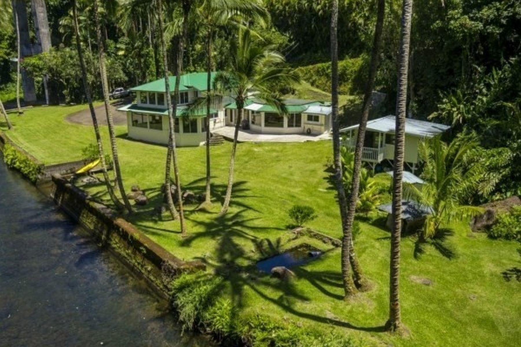 Casa Unifamiliar por un Venta en Honolii Beach Park 248 Kahoa St. Hilo, Hawaii, 96720 Estados Unidos