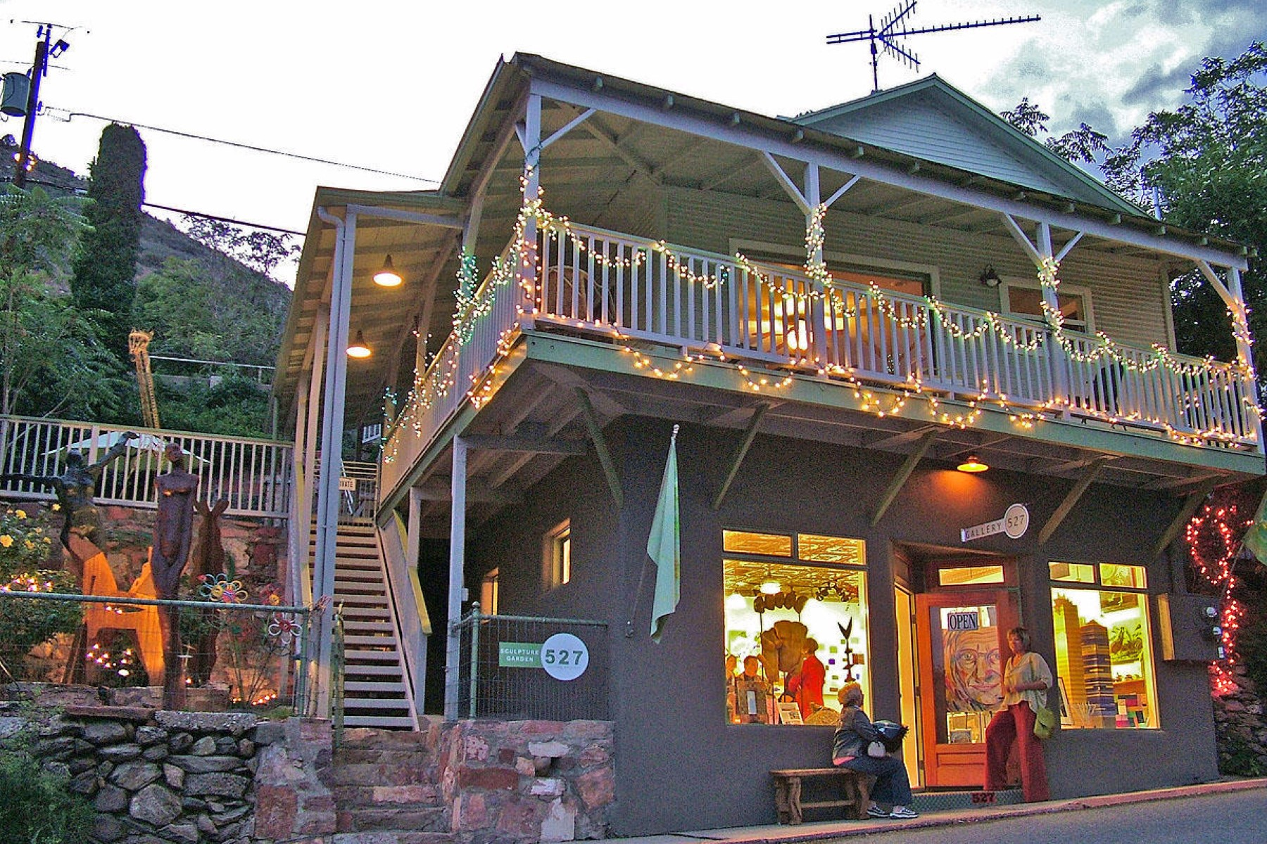 Single Family Home for Sale at Live the dream in Jerome 527 Main St Jerome, Arizona, 86331 United States