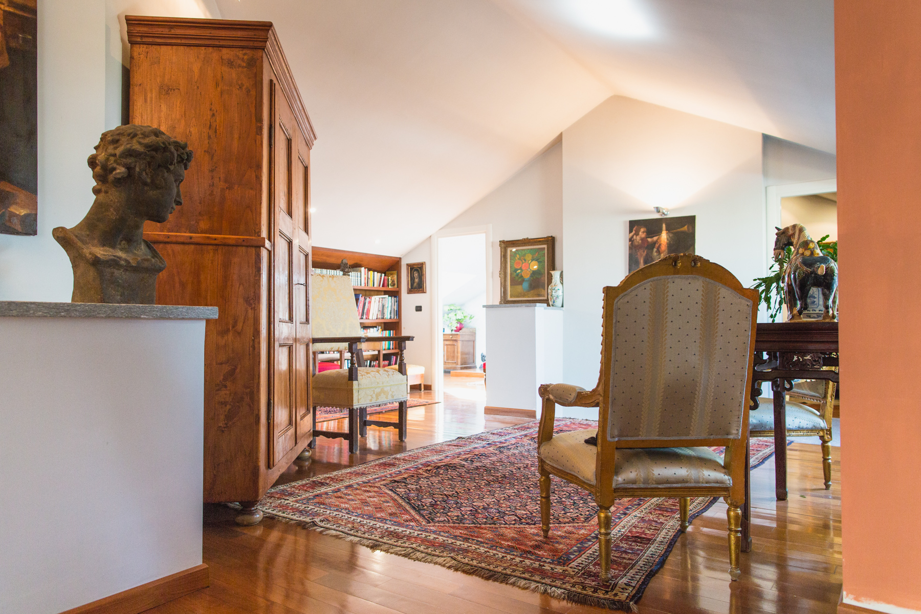 Additional photo for property listing at Panoramic attic overlooking the hill of Turin Piazza Nizza Torino, Turin 10126 Italy