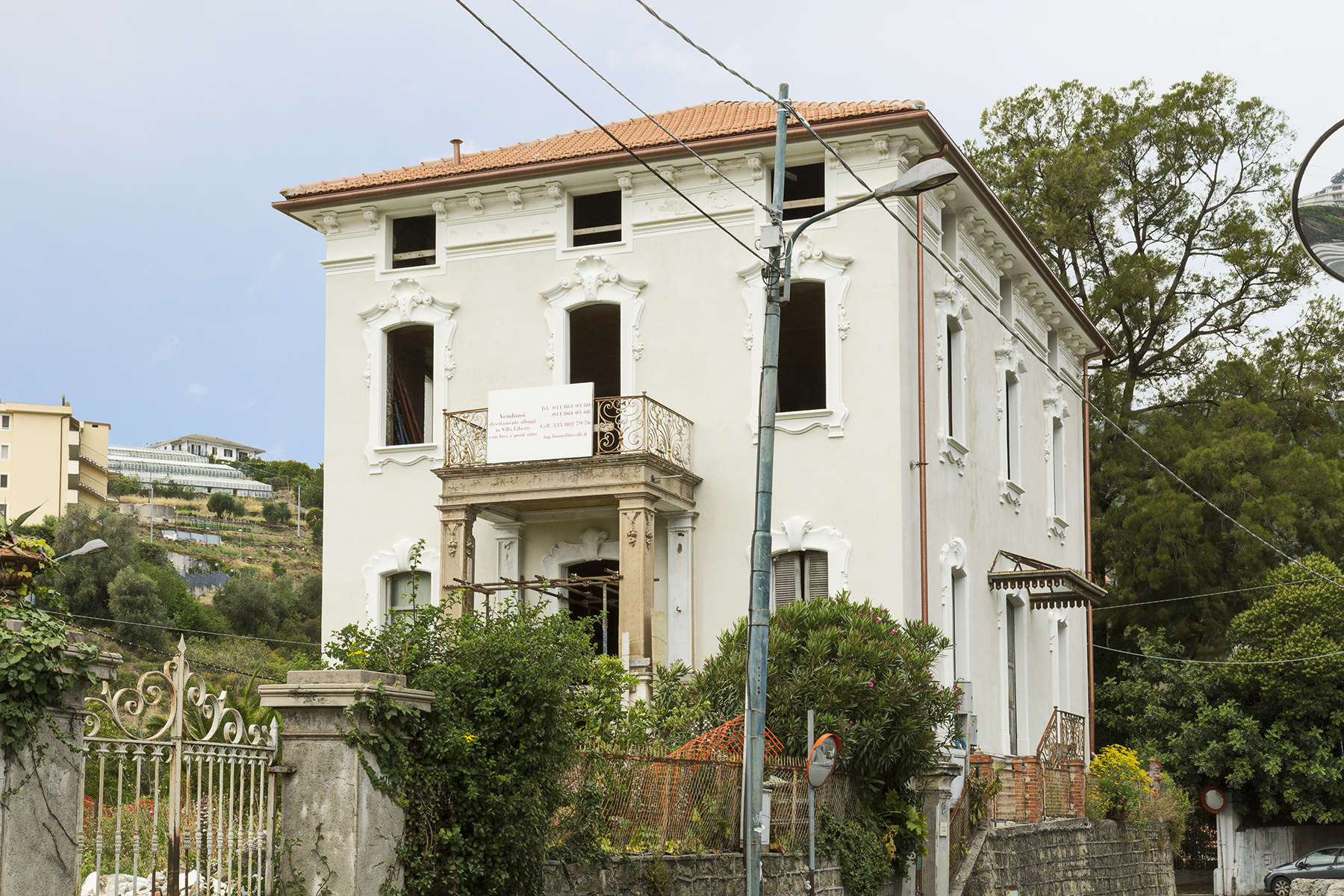 Additional photo for property listing at Liberty style Villa in Sanremo Corso degli Inglesi Sanremo, Imperia 18038 Italy