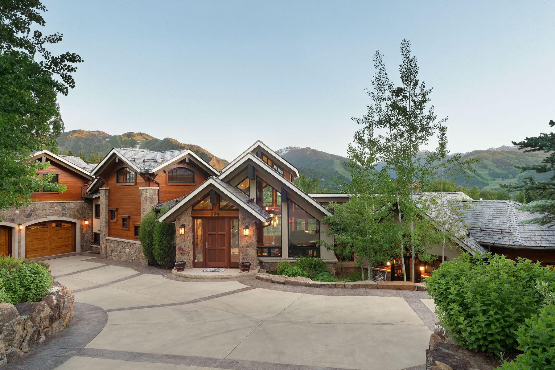 Single Family Home for Sale at Mountain Modern Masterpiece 294/296 Draw Drive Aspen, Colorado, 81611 United States