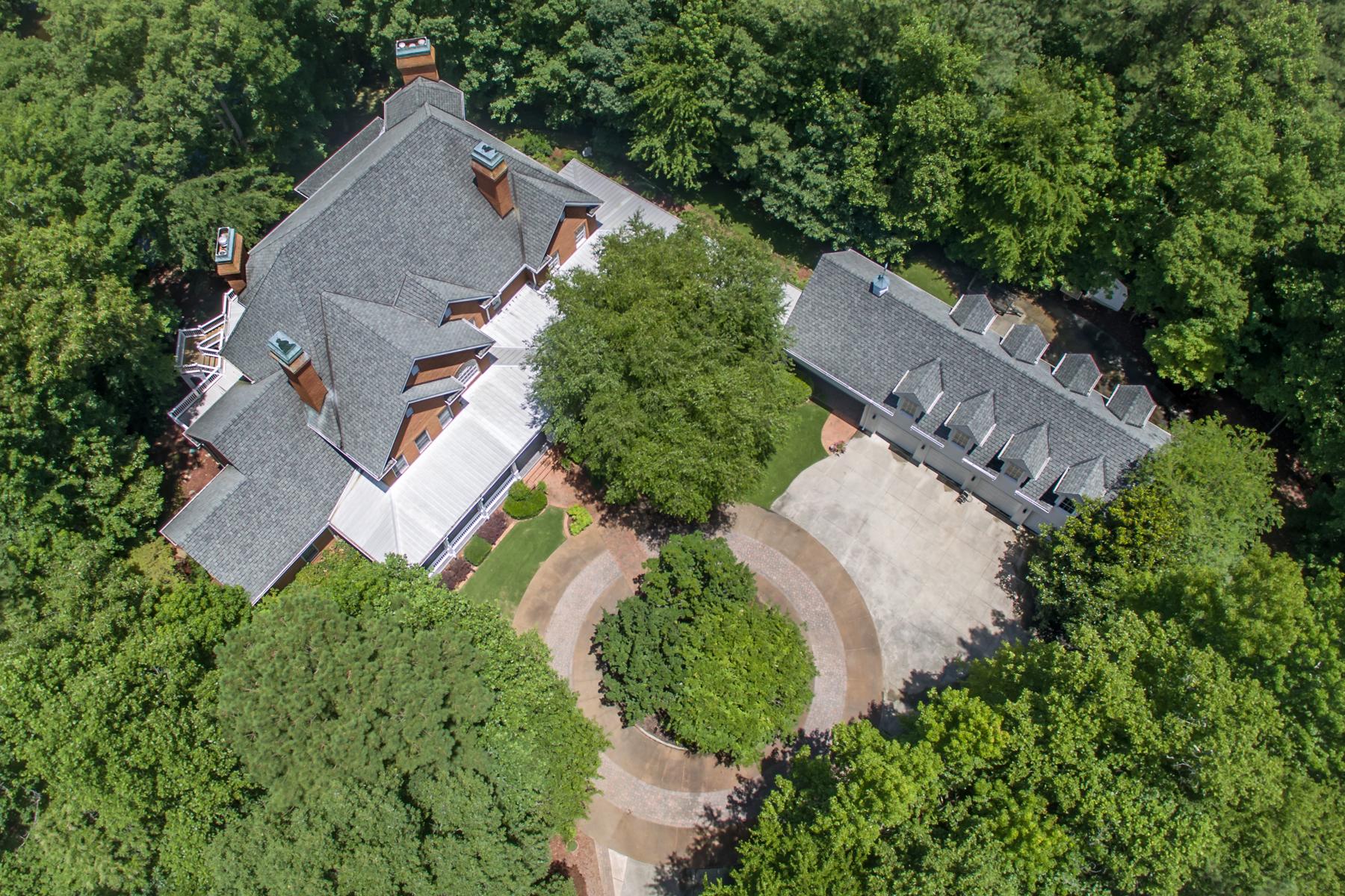 Moradia para Venda às Magnificent Gated Estate 1836 County Line Road NW Acworth, Geórgia 30101 Estados Unidos