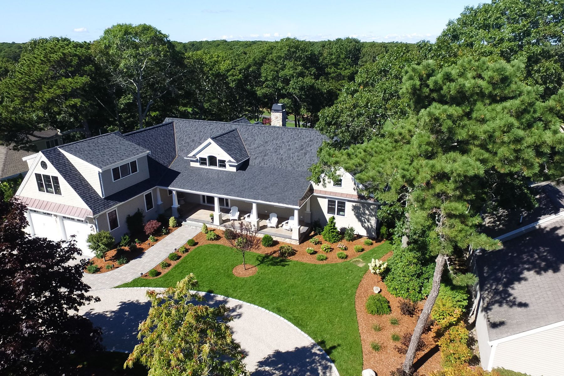 Single Family Home for Sale at DISTINCTIVE ELEGANCE 101 Greensward Road New Seabury, 02649 United States