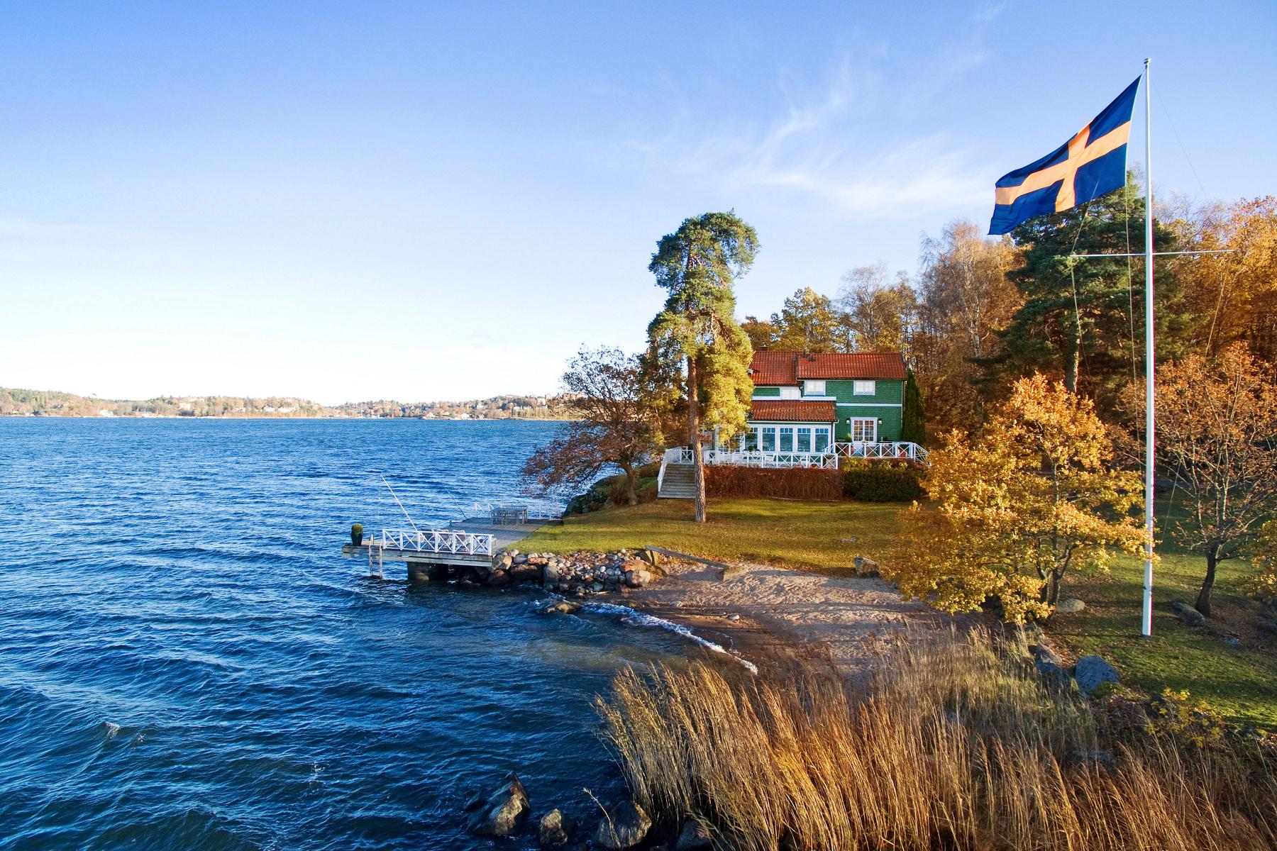 sales property at Villa Ugglebo, on Northern Djurgården (National park)