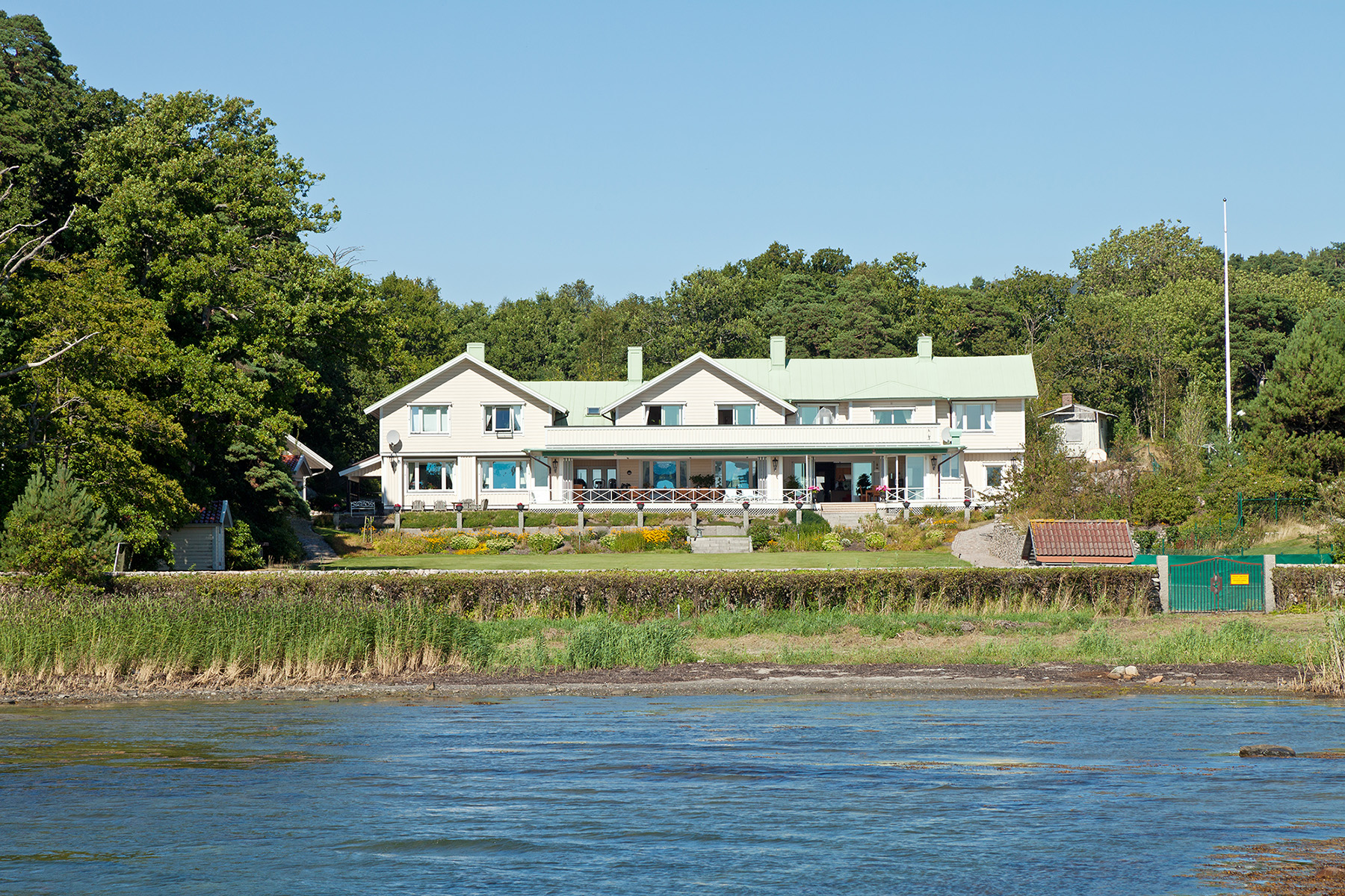 Single Family Home for Sale at Historic property next to the ocean Gustaf V:s Vag 11 Other Vastra Gotaland, Vastra Gotaland, 42943 Sweden