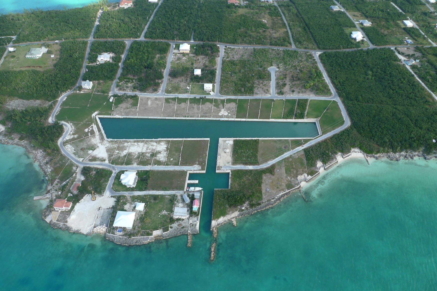 Land for Sale at Canal Lot 17 - in Crystal Bay Russell Island, Spanish Wells, Eleuthera Bahamas