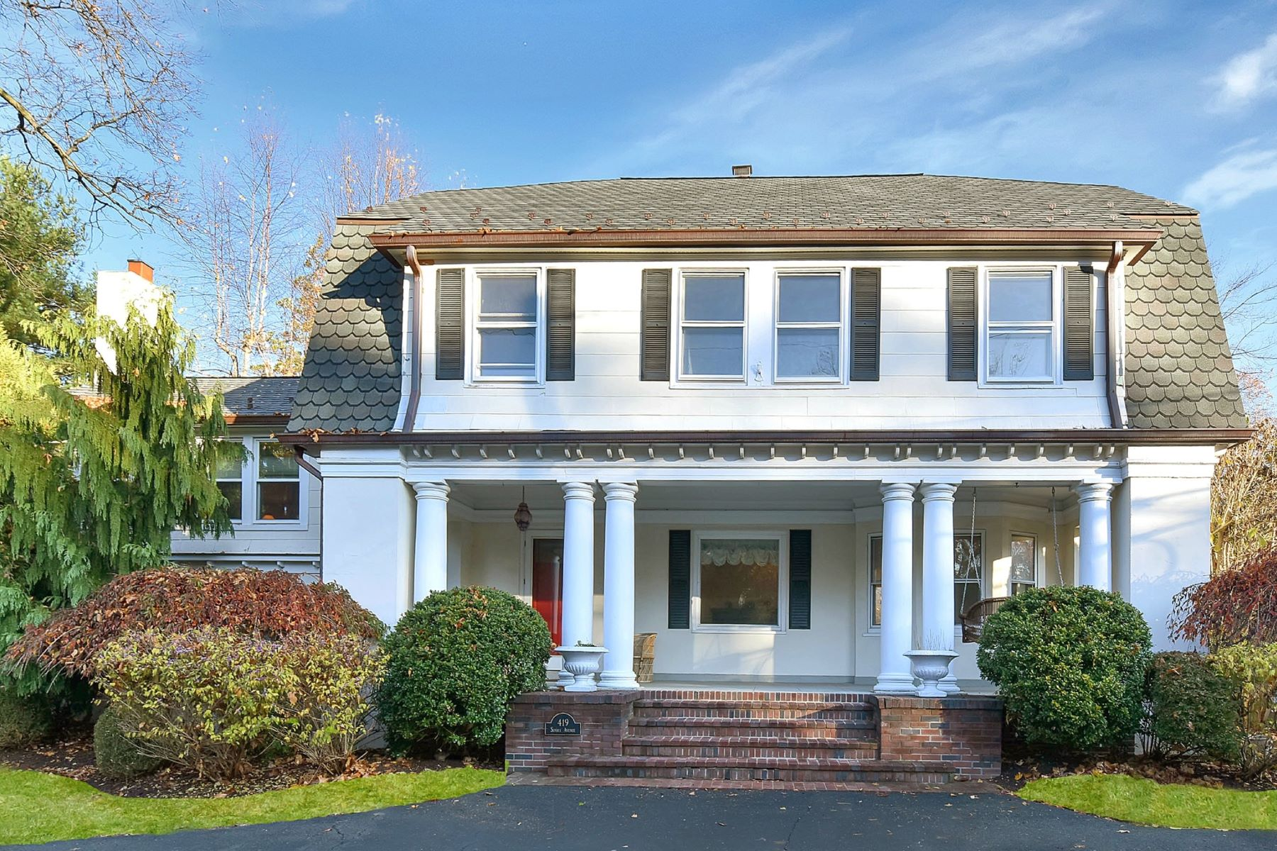 Single Family Home for Sale at Turn of the Century Charm 419 Sunset Ave Haworth, New Jersey 07641 United States