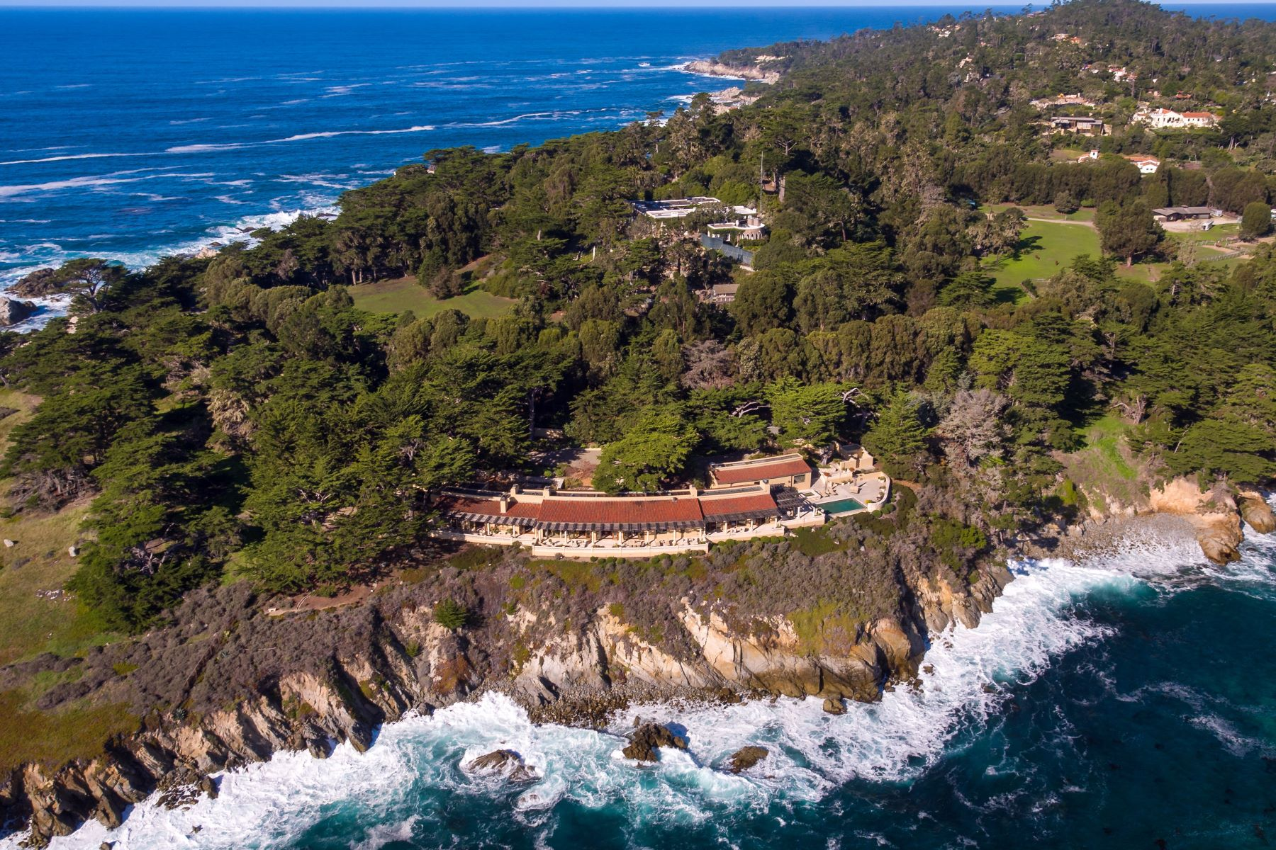 Maison unifamiliale pour l Vente à 3290 17 Mile Drive Pebble Beach, Californie 93953 États-Unis