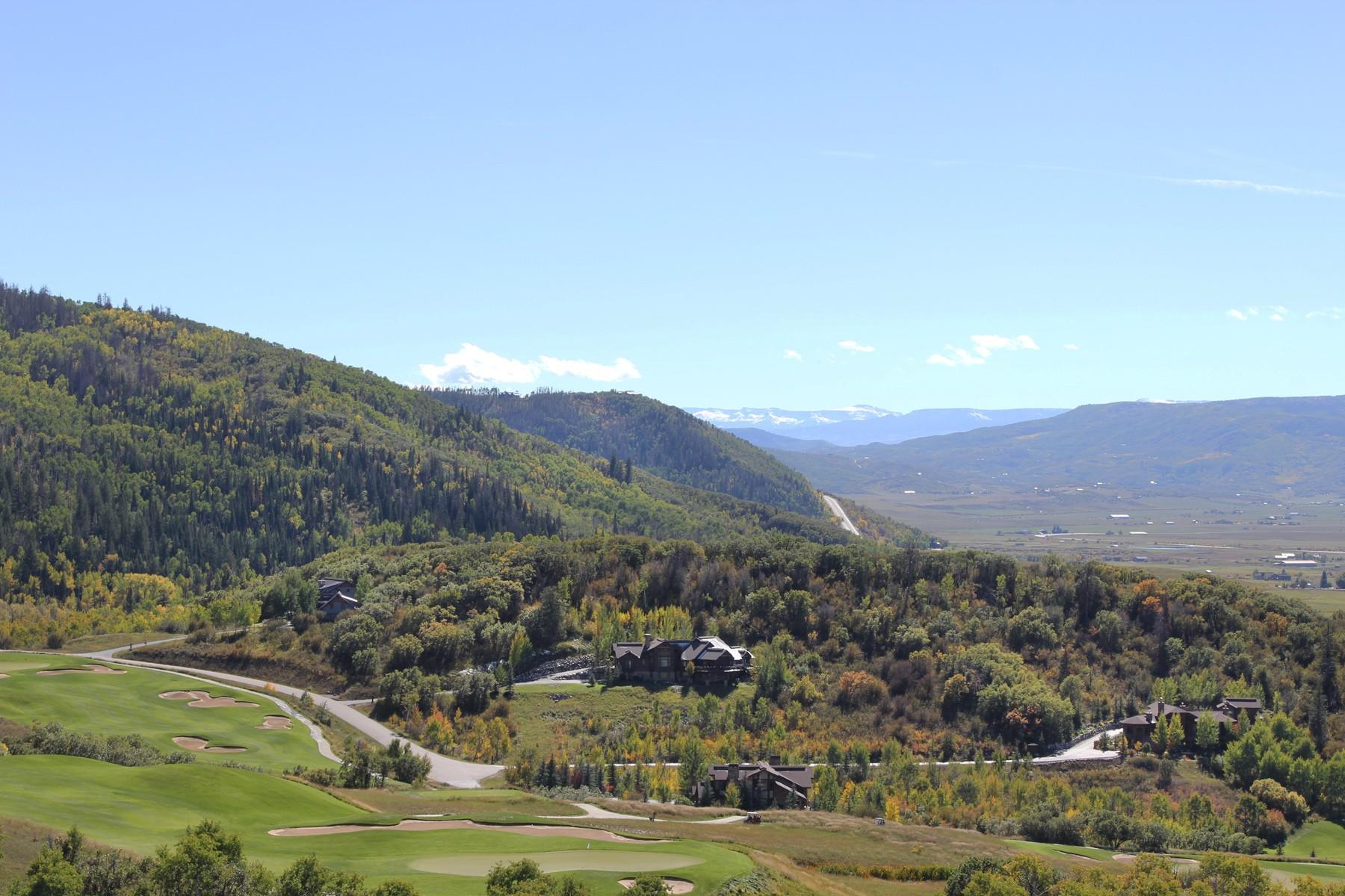 Terrain pour l Vente à Catamount Ranch Golf Course Best View Lot 33905 Catamount Drive Steamboat Springs, Colorado, 80487 États-Unis