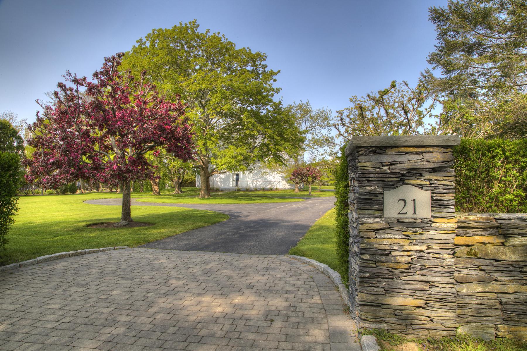 Casa Unifamiliar por un Venta en Unique Ocean View Contemporary 21 Atlantic Avenue Newport, Rhode Island, 02840 Estados Unidos