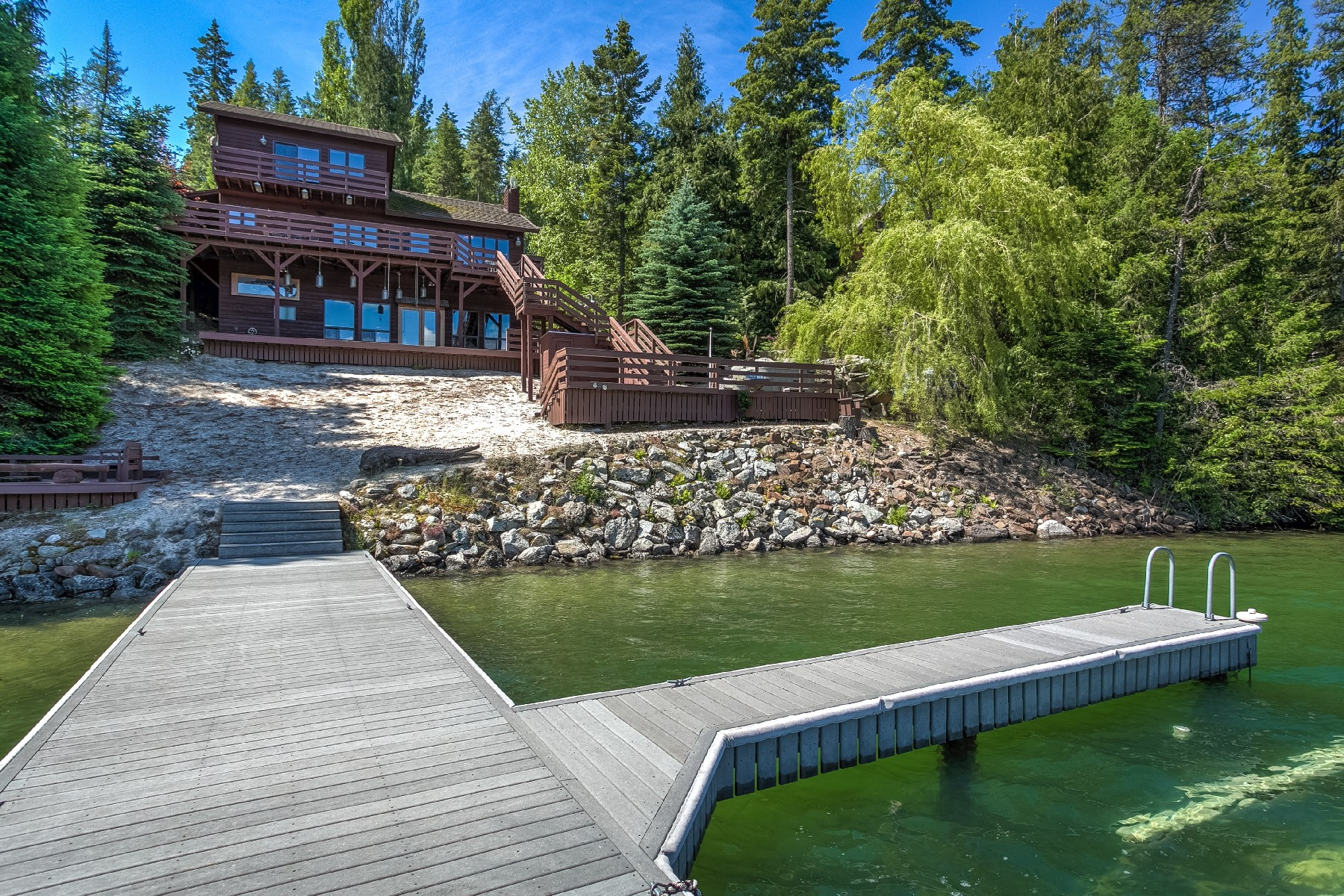 Single Family Home for Sale at Westwood Waterfront 2161 Wooded Acres Drive Sagle, Idaho, 83860 United States