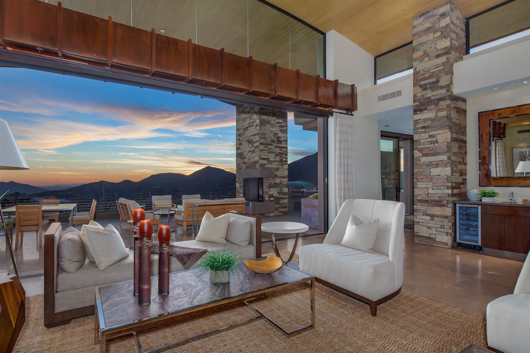 Einfamilienhaus für Verkauf beim Bing Hu Architectural Masterpiece in Scottsdale 10028 E Reflecting Mountain Way Scottsdale, Arizona, 85262 Vereinigte Staaten