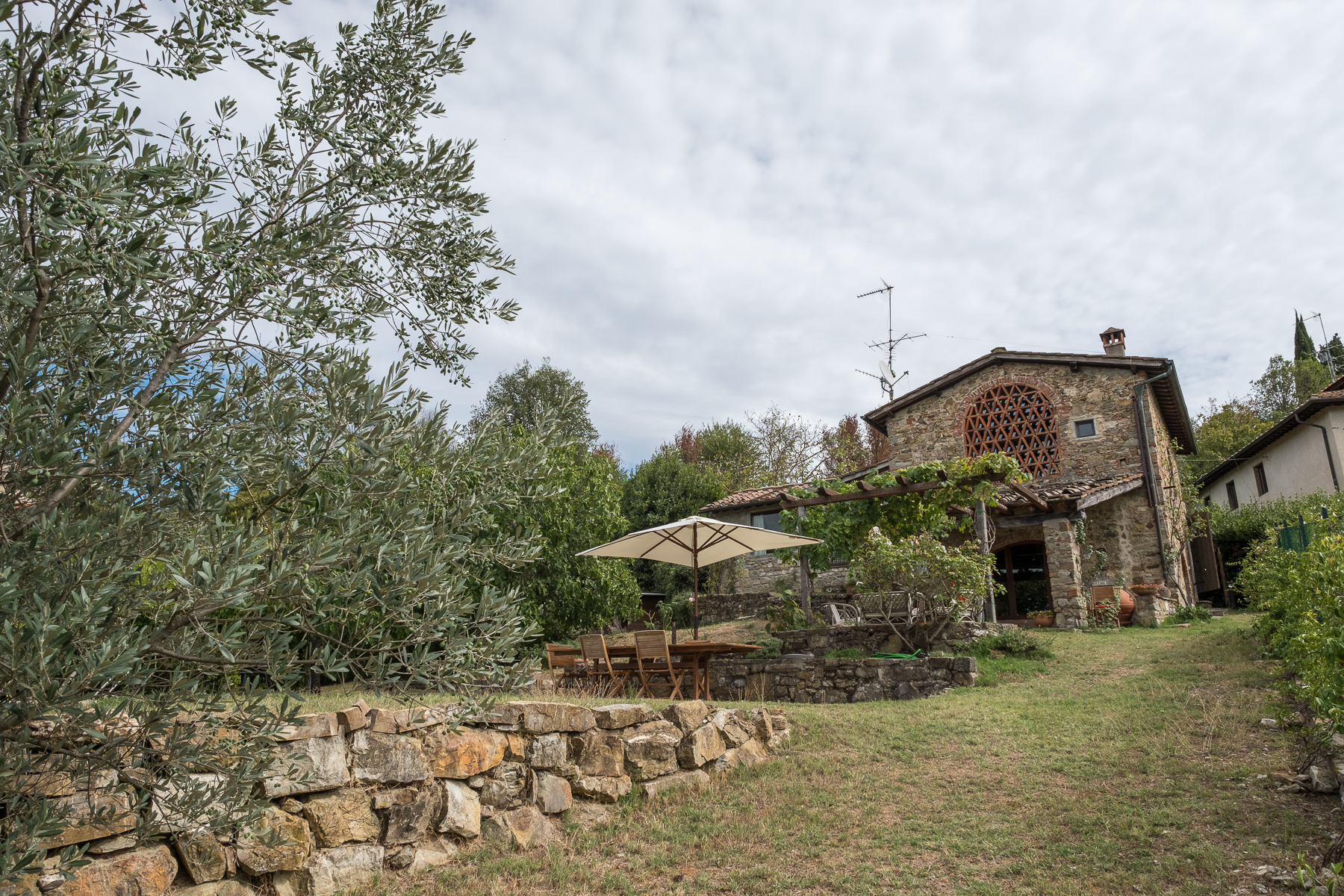 Single Family Home for Sale at Farmhouse with swimming pool and lovely views over Florence San Donato in Collina Bagno A Ripoli, 50012 Italy