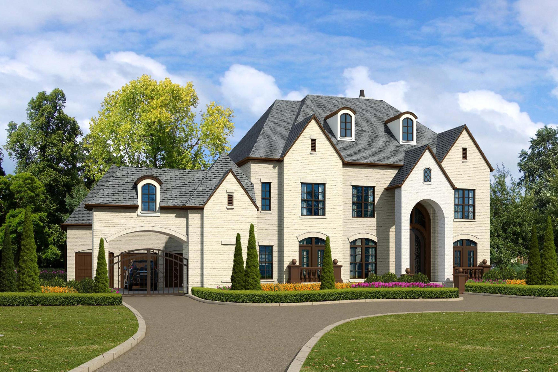 Частный односемейный дом для того Продажа на Brand New Custom Built Home In North Buckhead 479 Loridans Drive NE North Buckhead, Atlanta, Джорджия, 30342 Соединенные Штаты