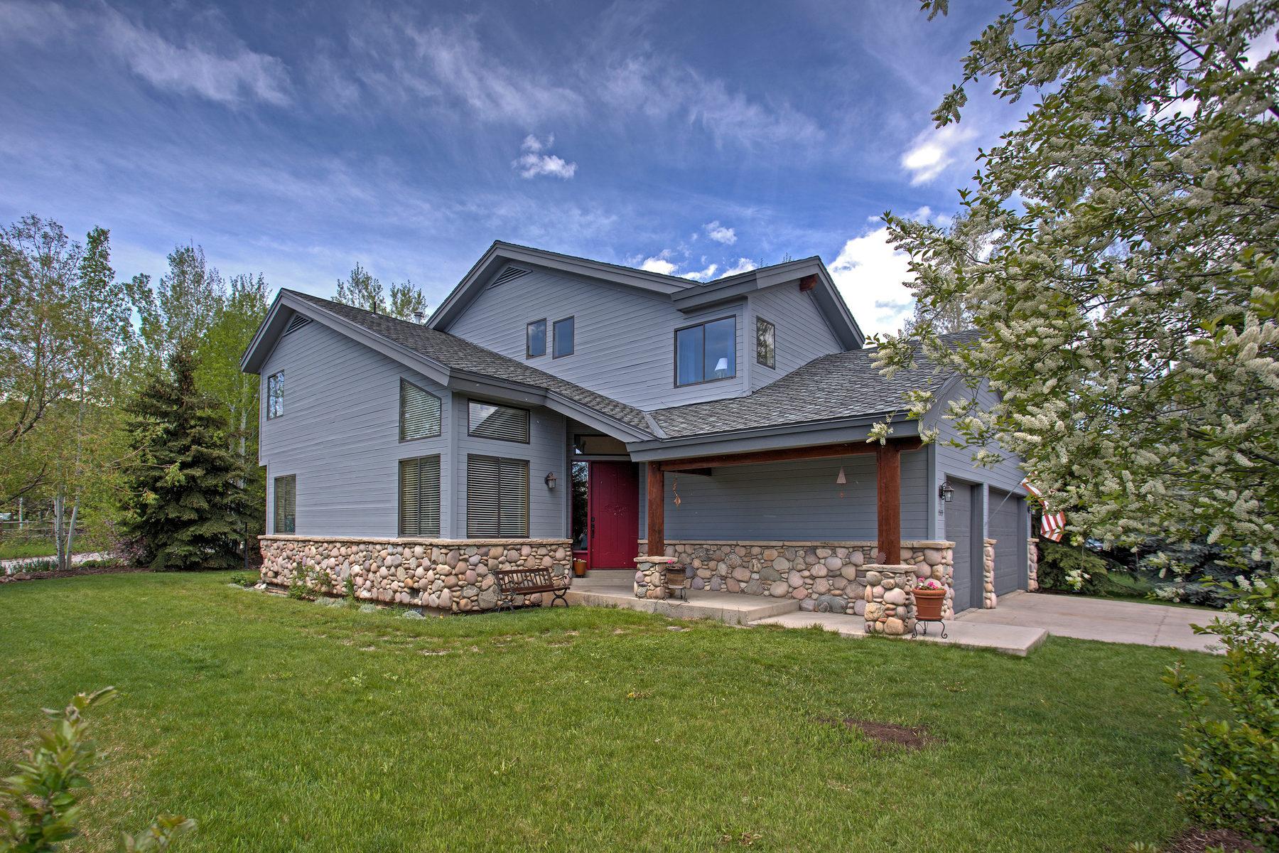 Частный односемейный дом для того Продажа на Creekside Home in Southshore 1589 Southshore Dr Park City, Юта, 84098 Соединенные Штаты