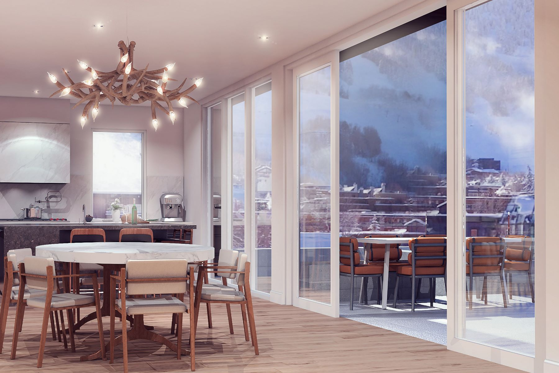 Additional photo for property listing at Downtown Aspen Penthouse 601 E Hyman Avenue Aspen, Colorado 81611 United States