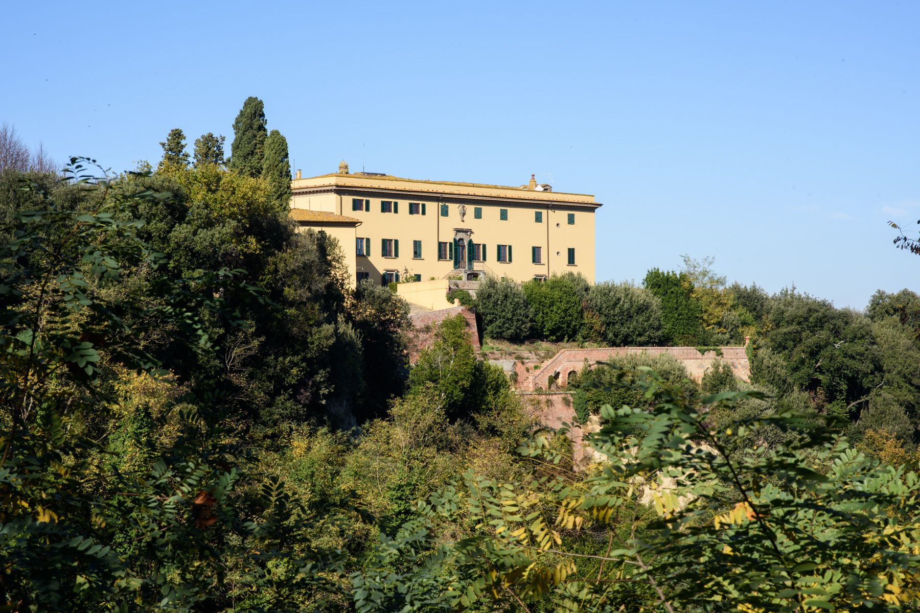 Single Family Home for Sale at Historic Estate in the Heart of Tuscany: Villa Strozzi in Collegalli Montaione, Florence Italy