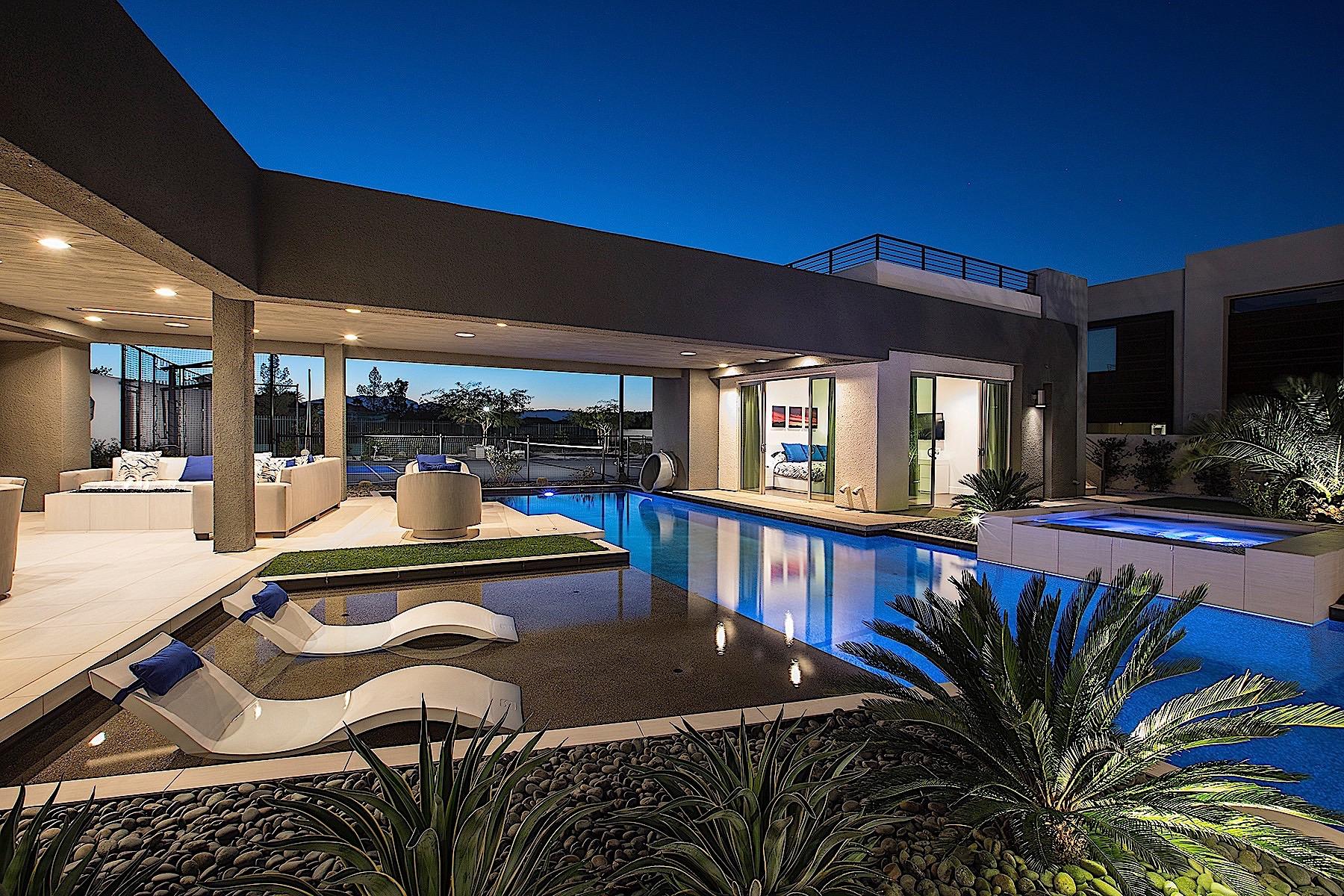 獨棟家庭住宅 為 出售 在 1321 Villa Barolo Ave Henderson, 內華達州, 89052 美國在/周邊: Las Vegas