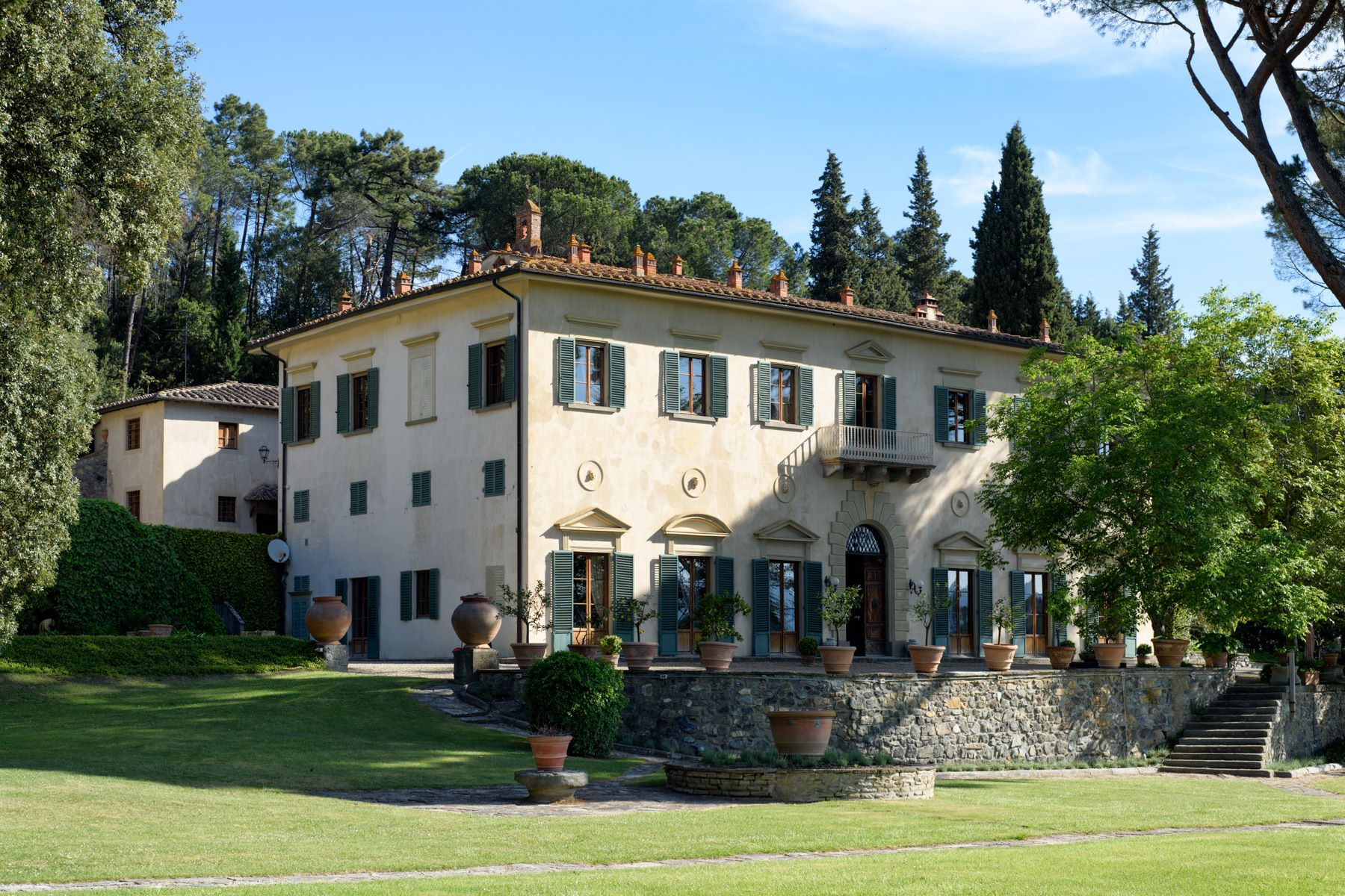 Single Family Home for Sale at Beautiful villa with swimming pool close to Florence Impruneta, Florence, Italy