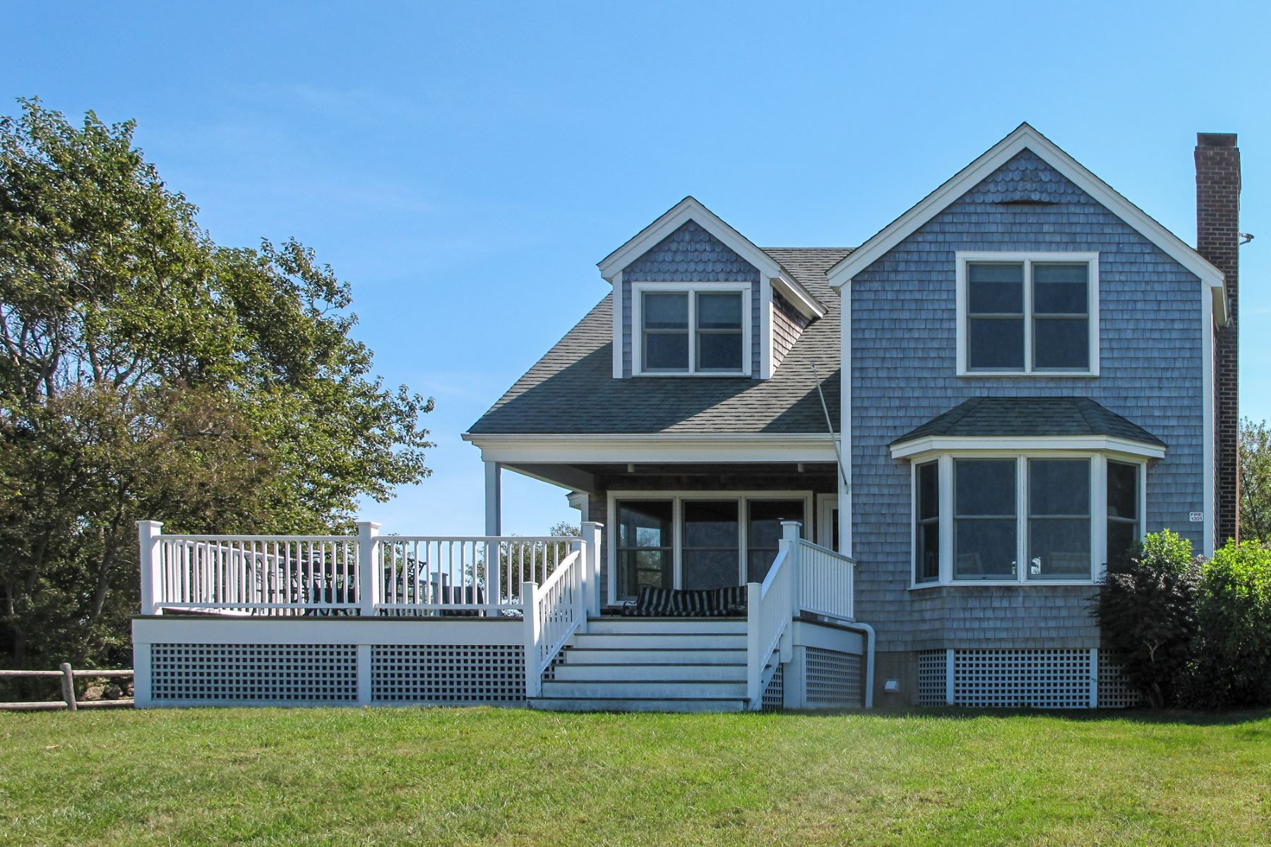 Single Family Home for Sale at 1201 Trim's Ridge 1201 West Side Road Block Island, Rhode Island 02807 United States