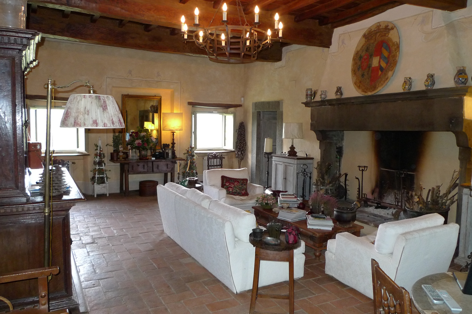 Additional photo for property listing at A charming Chianti farmhouse with breathtaking views and pool Radda In Chianti, Siena Italia