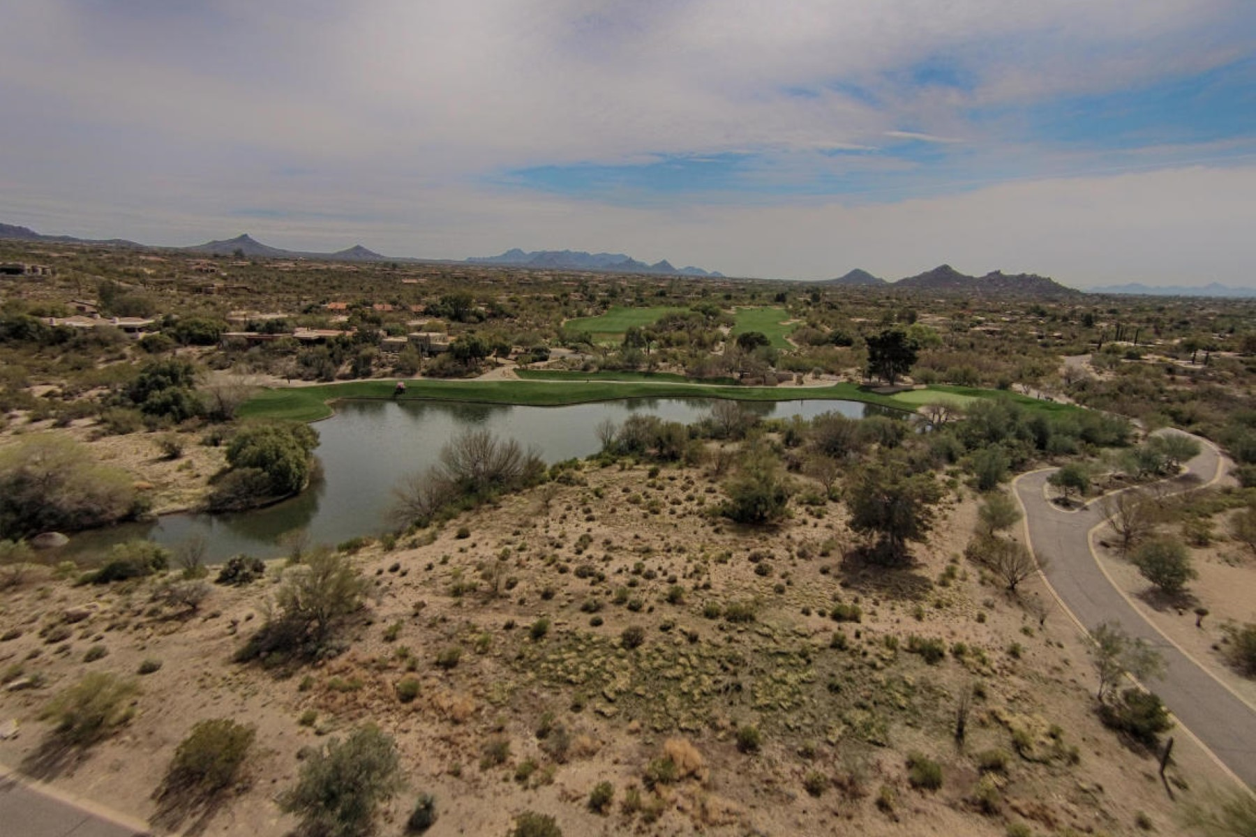 sales property at Guard Gated 2.4 acre Boulders Resort Estate lot.
