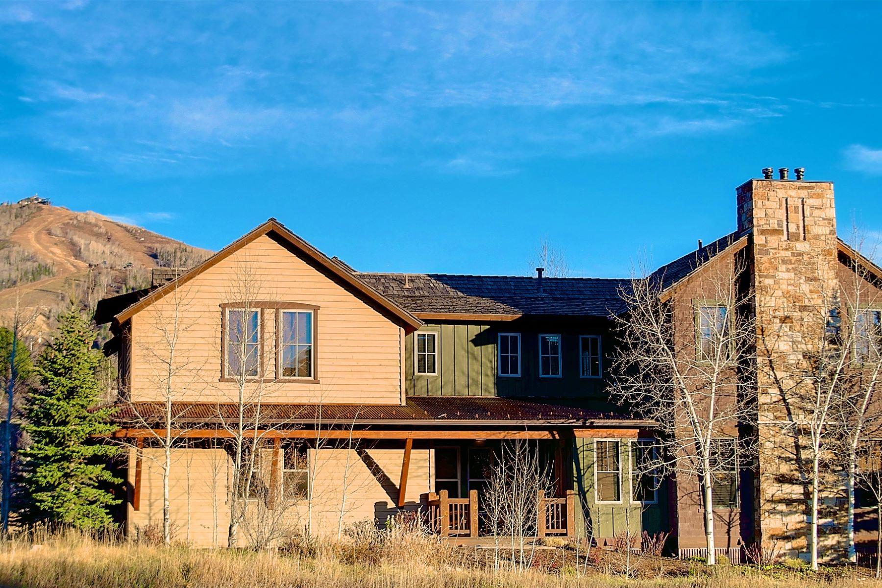 Maison en rangée pour l Vente à Full Ownership at The Porches 2095 Indian Summer Drive Mountain, Steamboat Springs, Colorado, 80487 États-Unis