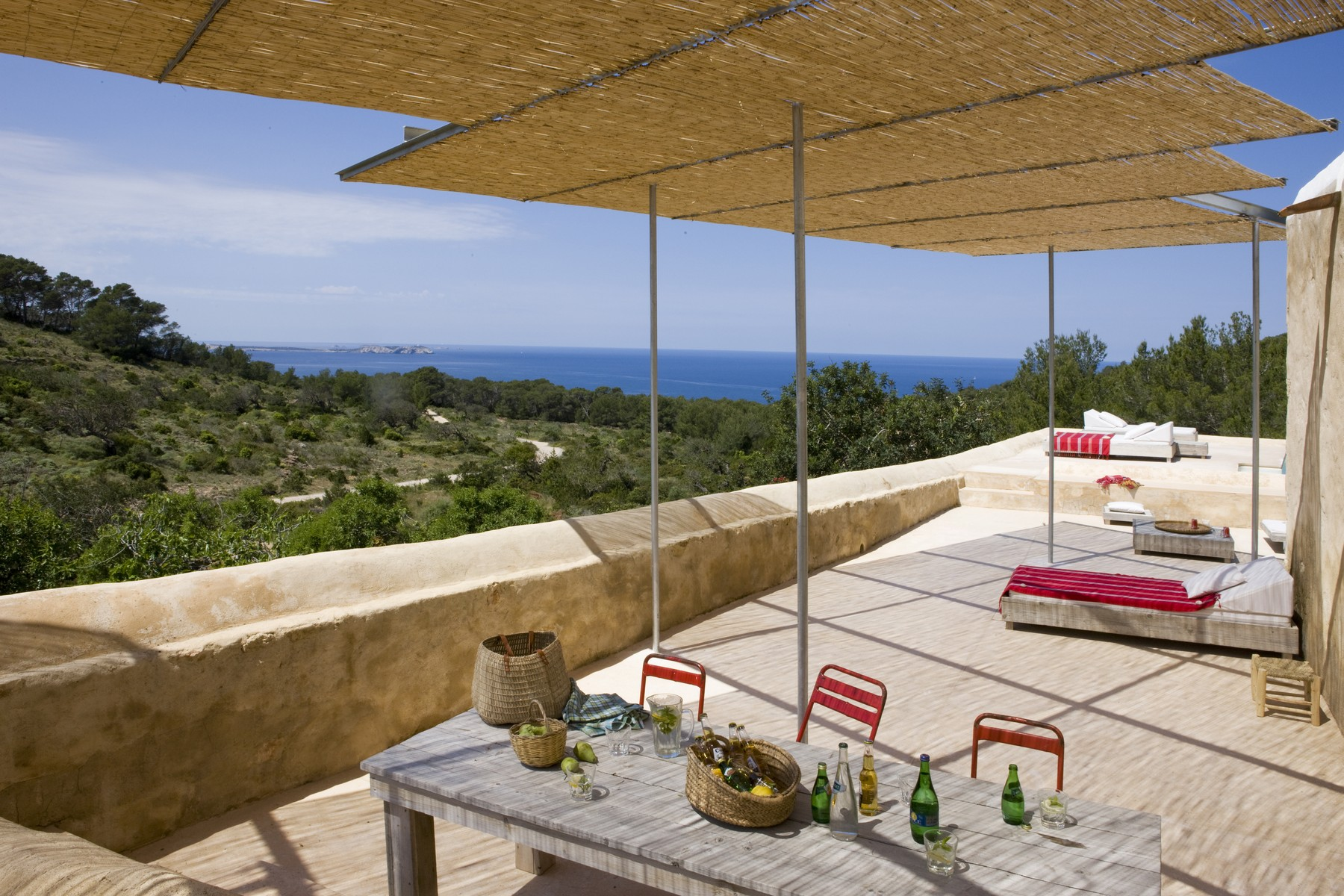 Villa per Vendita alle ore Old Ibizan Jewel With Open Sea Views And Sunset San Antonio Abad, Maiorca, 07820 Spagna