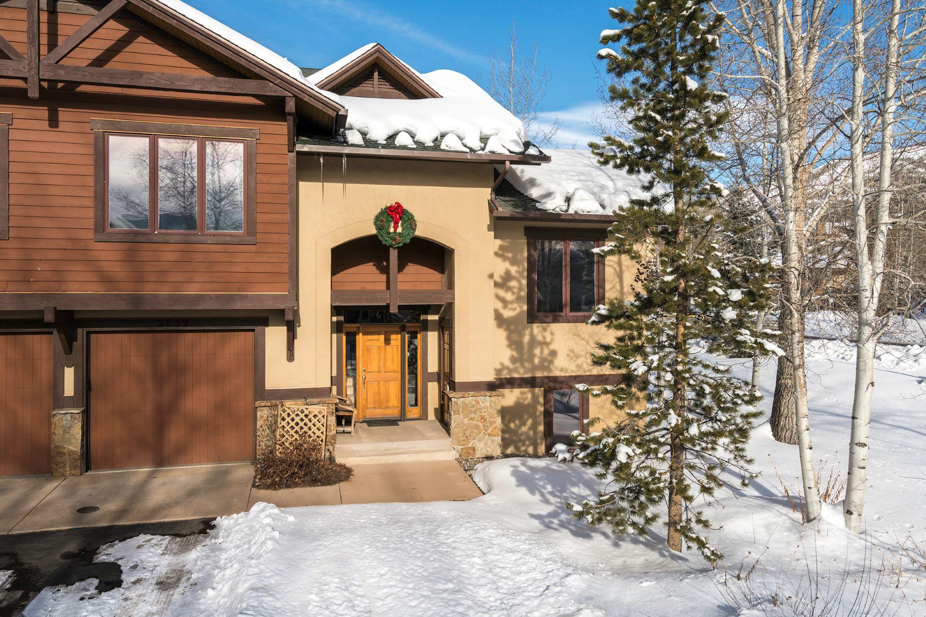 Maison en rangée pour l Vente à Waterstone at EagleRidge #1 2659 Waterstone Lane #1 Mountain, Steamboat Springs, Colorado, 80487 États-Unis