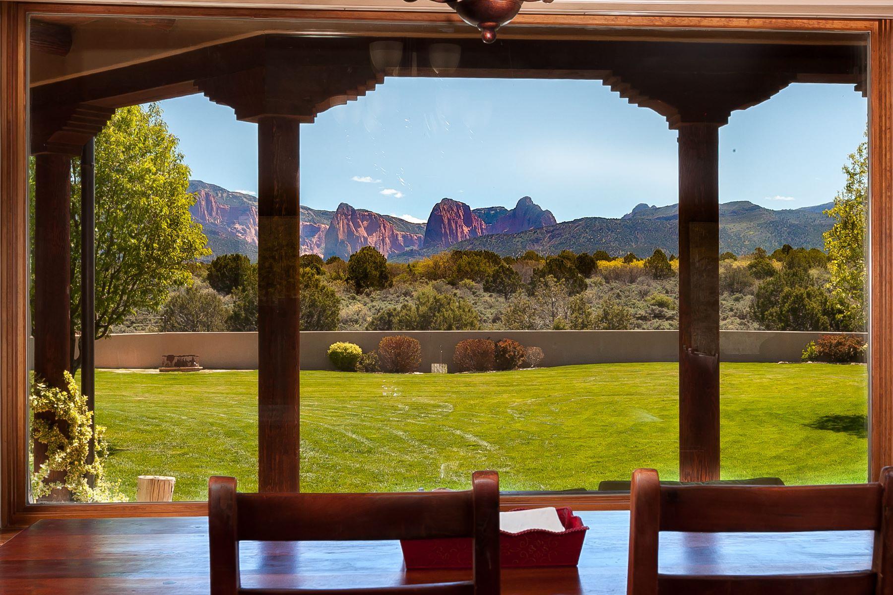 Частный односемейный дом для того Продажа на Equestrian Paradise with Zion's Kolob Canyon Views 755 South 1500 East New Harmony, Юта 84757 Соединенные Штаты