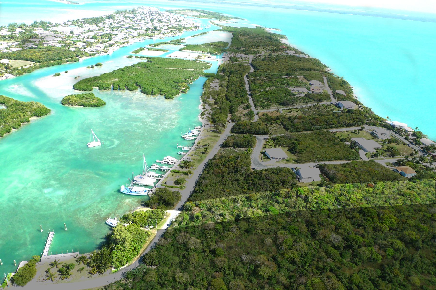 Land for Sale at Russell Island Acreage with Dock Spanish Wells, Eleuthera Bahamas