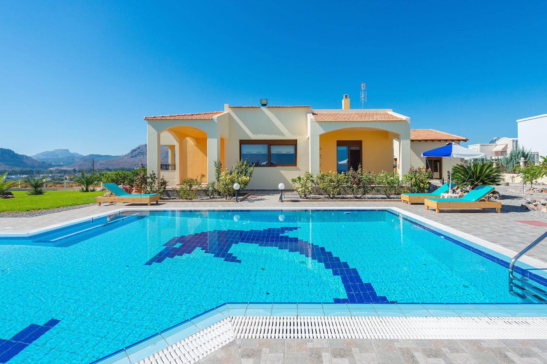 独户住宅 为 销售 在 Luxurious Landscape 罗兹岛, 爱海琴南部, 希腊
