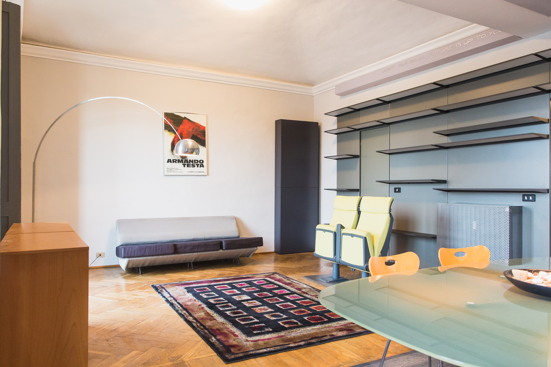 Additional photo for property listing at Essential and modern style apartment Corso Guglielmo Marconi Torino, Turin 10125 Italien