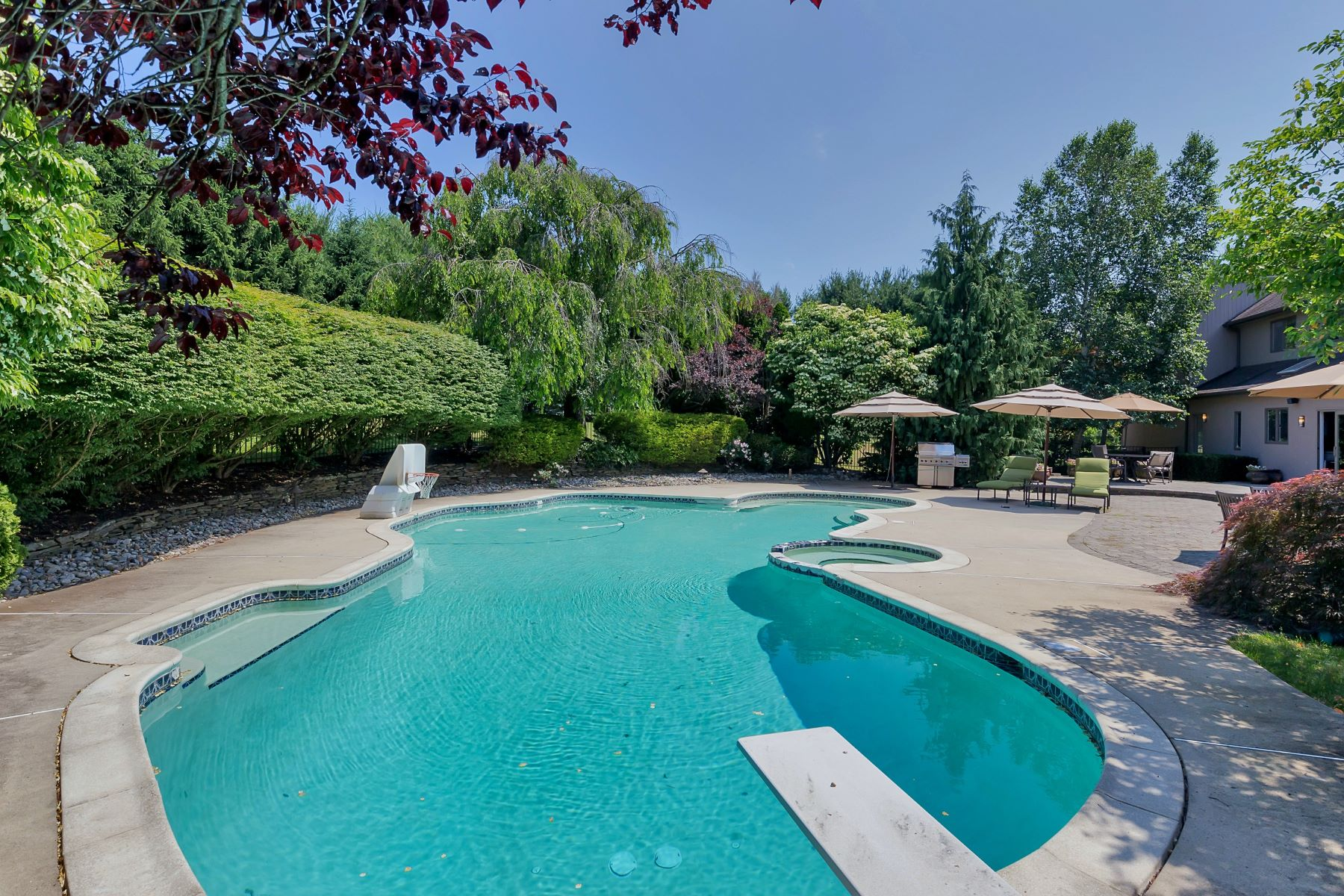 Single Family Home for Sale at Inspiring Contemporary 7 Tanglewood Court Colts Neck, New Jersey, 07722 United States