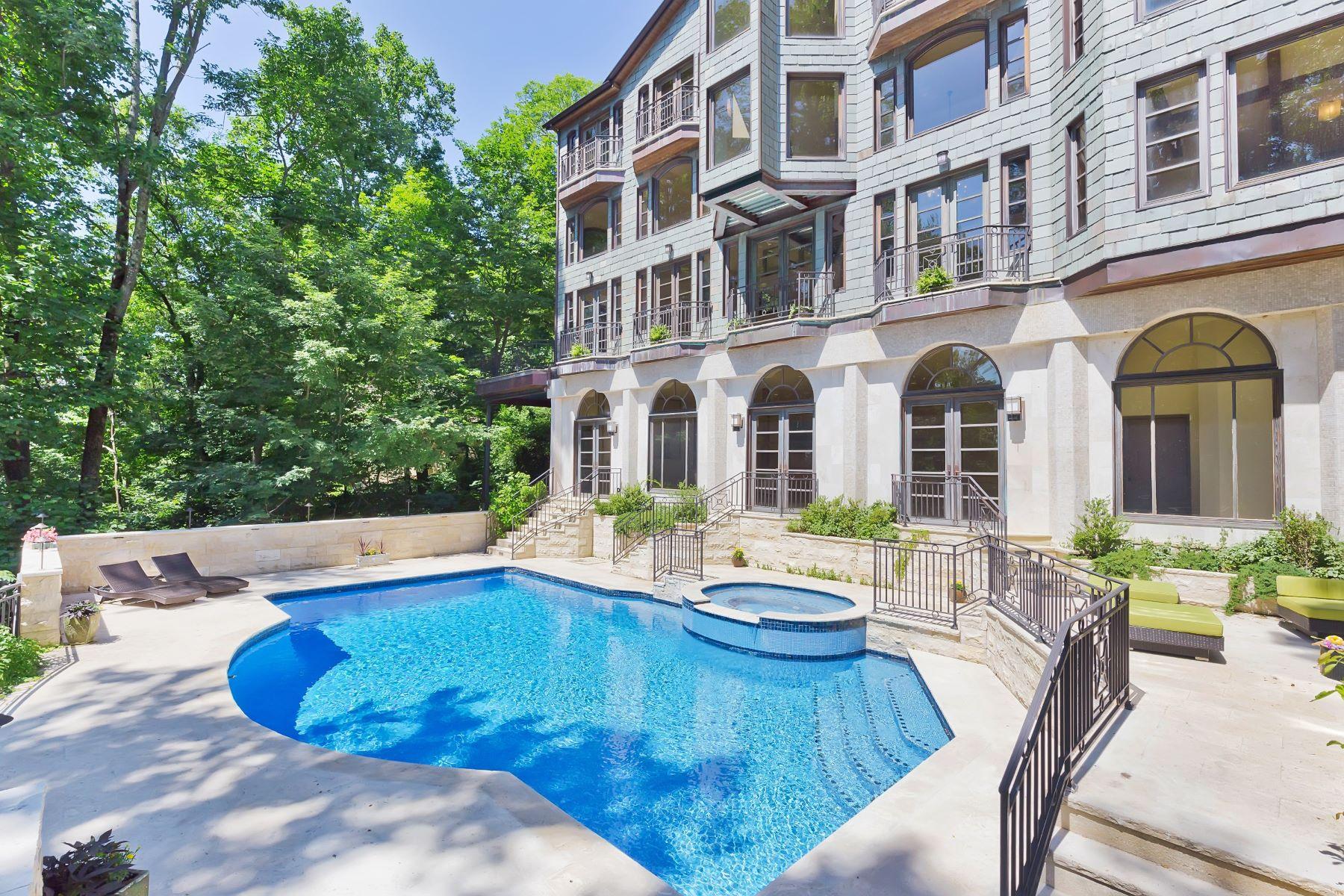 獨棟家庭住宅 為 出售 在 Architectural Masterpiece 834 Johnston Drive Watchung, 新澤西州, 07069 美國