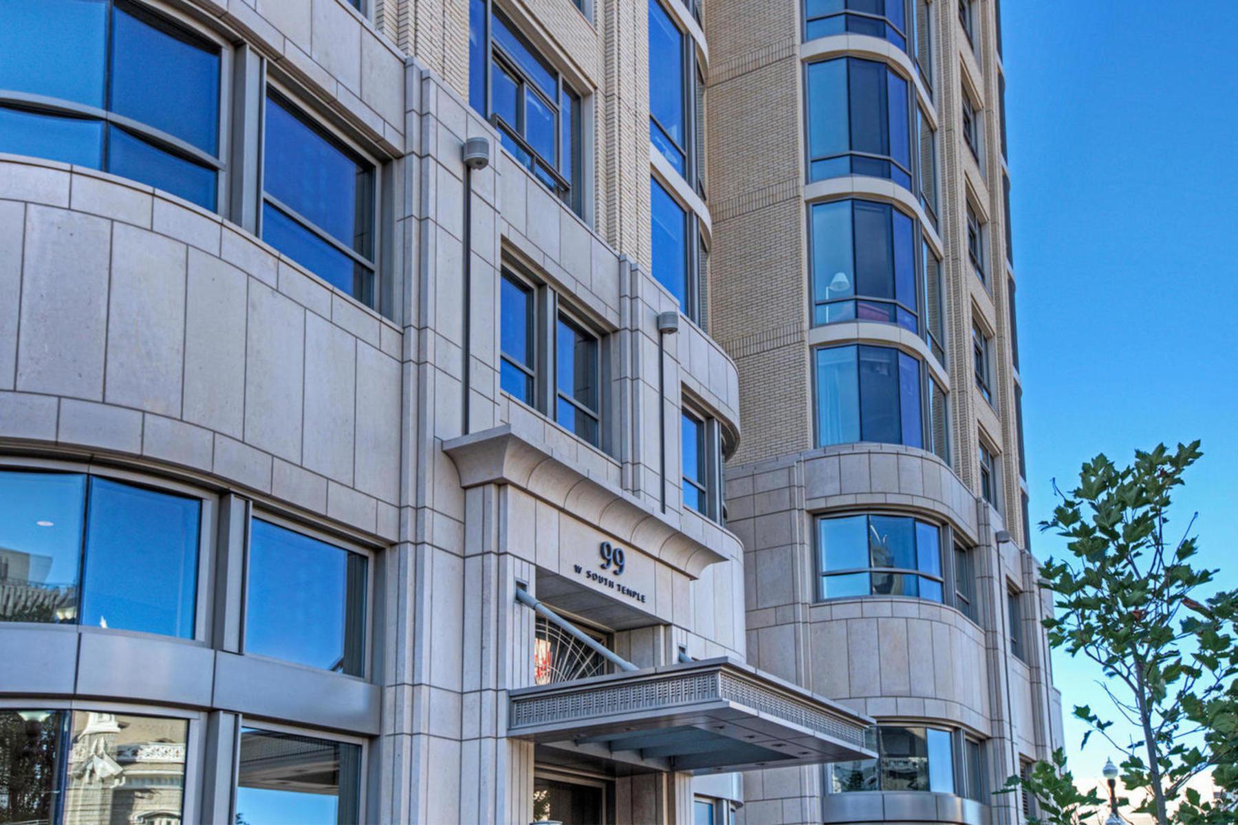 共管式独立产权公寓 为 销售 在 Luxury City Creek Condo 99 W South Temple St #2003,2004,2005 盐湖城市, 犹他州 84101 美国