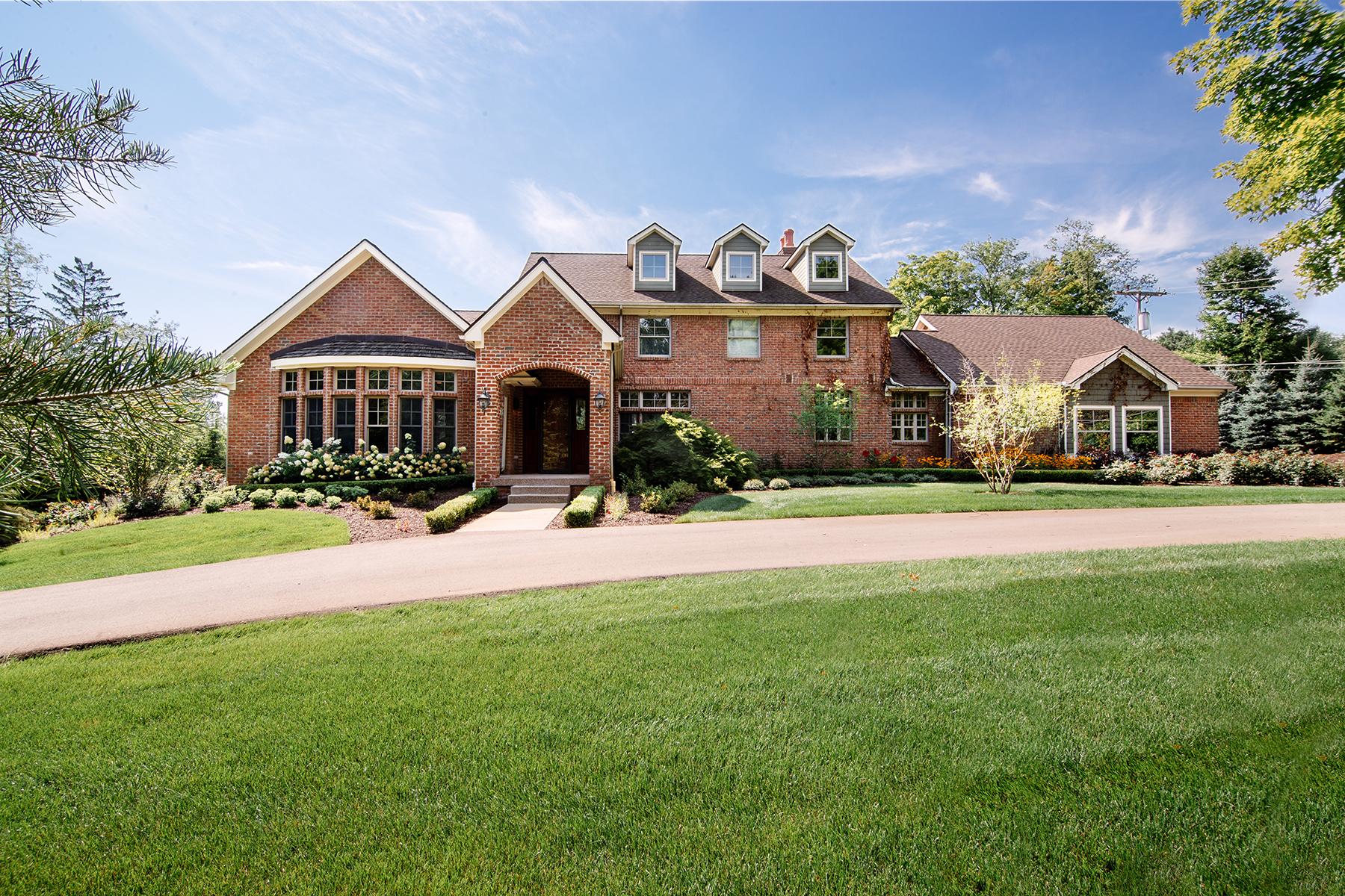 Частный односемейный дом для того Продажа на Northville Township 44609 Cherry Ridge Road Northville Township, Мичиган, 48168 Соединенные Штаты