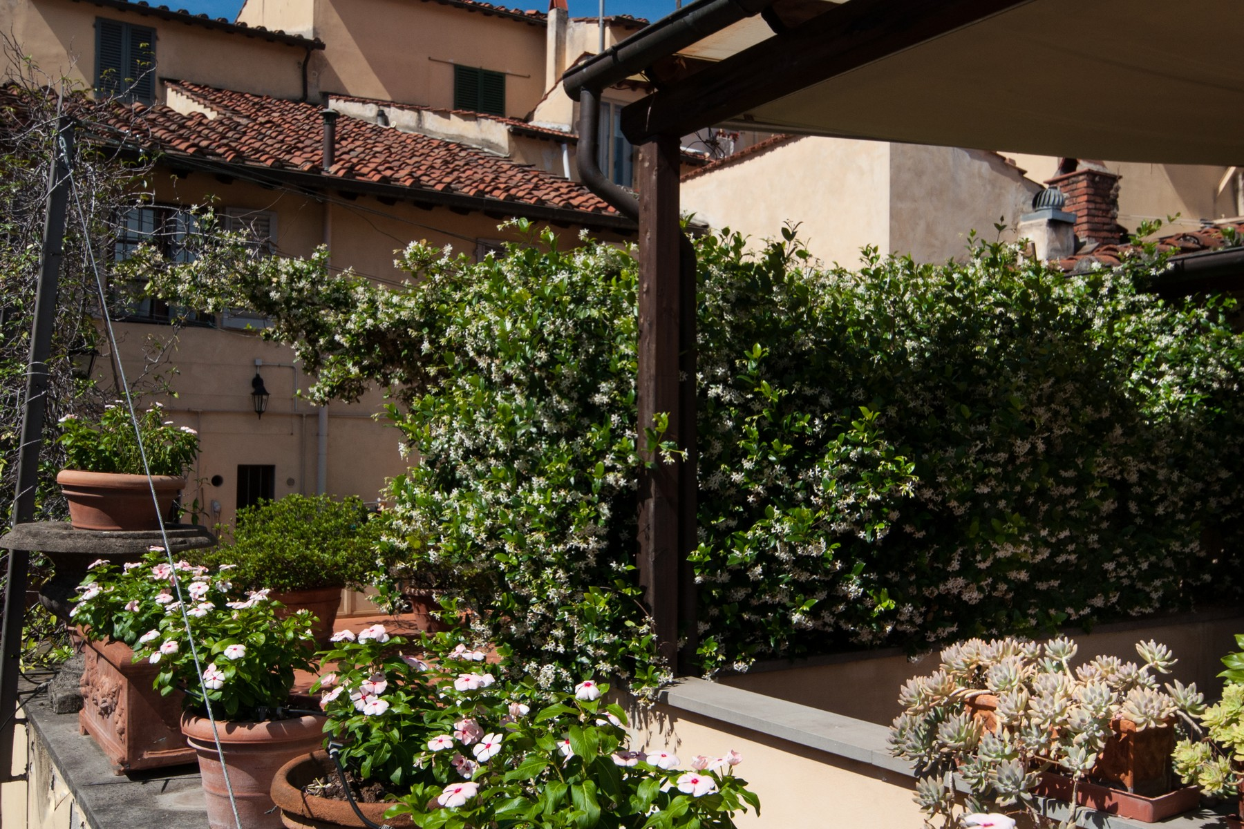 Additional photo for property listing at Charming apartment with terrace Piazza San Francesco Prato, Prato 59100 Italie