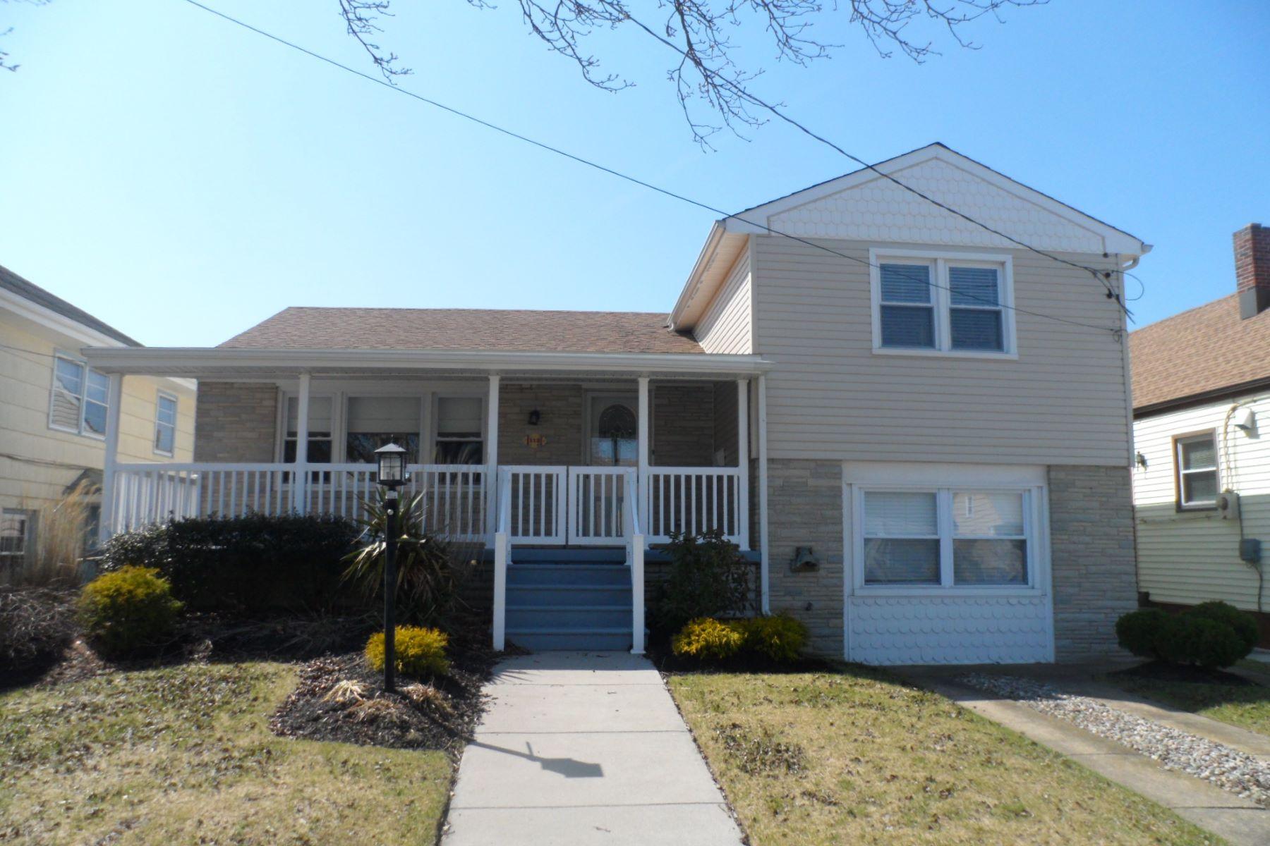 Casa Unifamiliar por un Alquiler en 112 N Jerome Ave Margate, Nueva Jersey 08402 Estados Unidos
