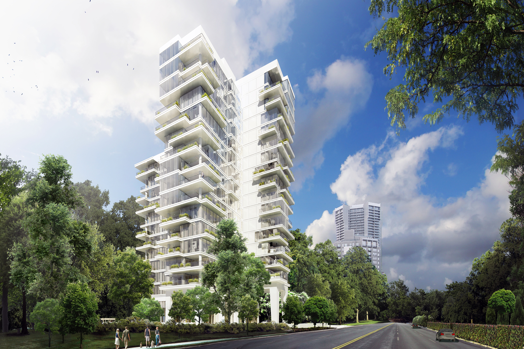 Condominio per Vendita alle ore Exquisite Contemporary Buckhead Residence 2520 Peachtree Road No. 5W Atlanta, Georgia 30305 Stati Uniti