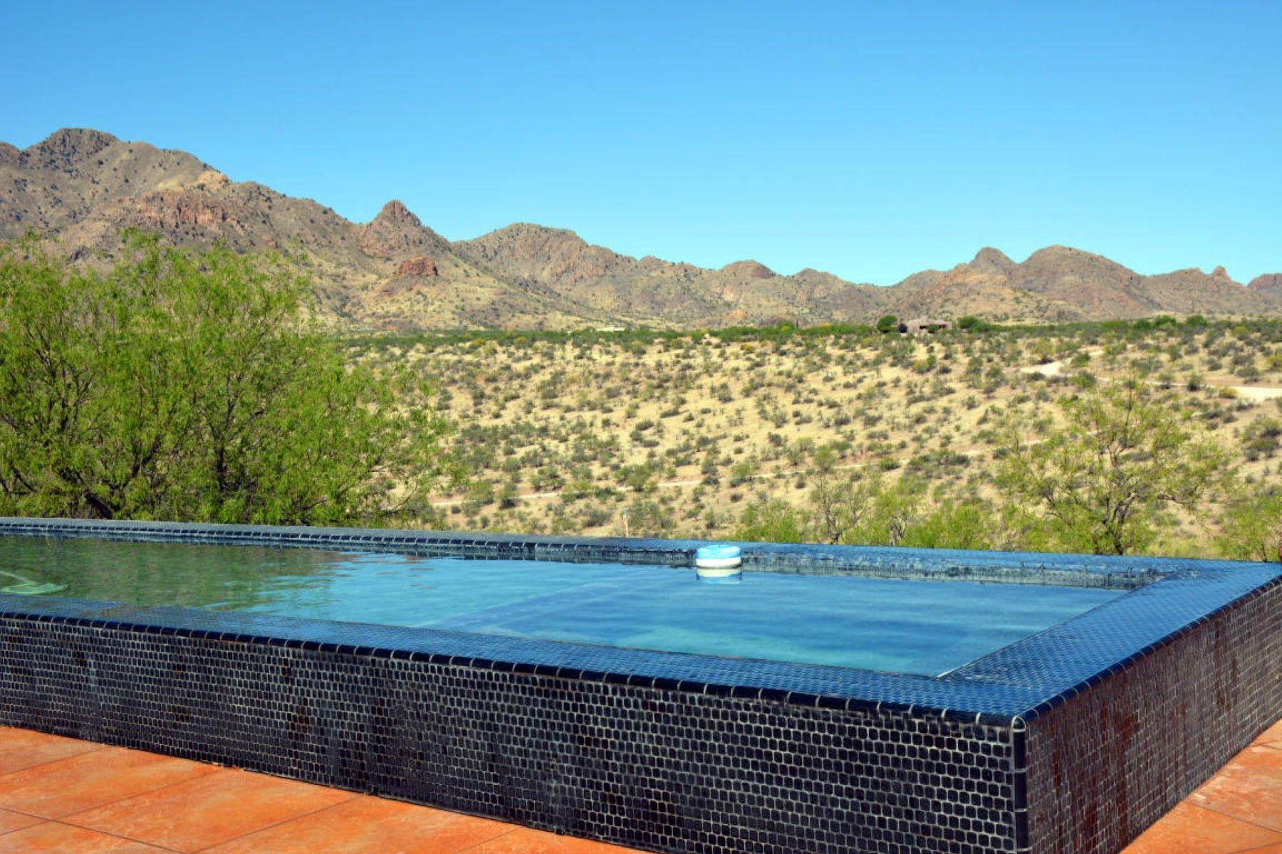 Single Family Home for Sale at Custom California contempory home 33 Guadalupe Lane Tubac, Arizona, 85646 United States