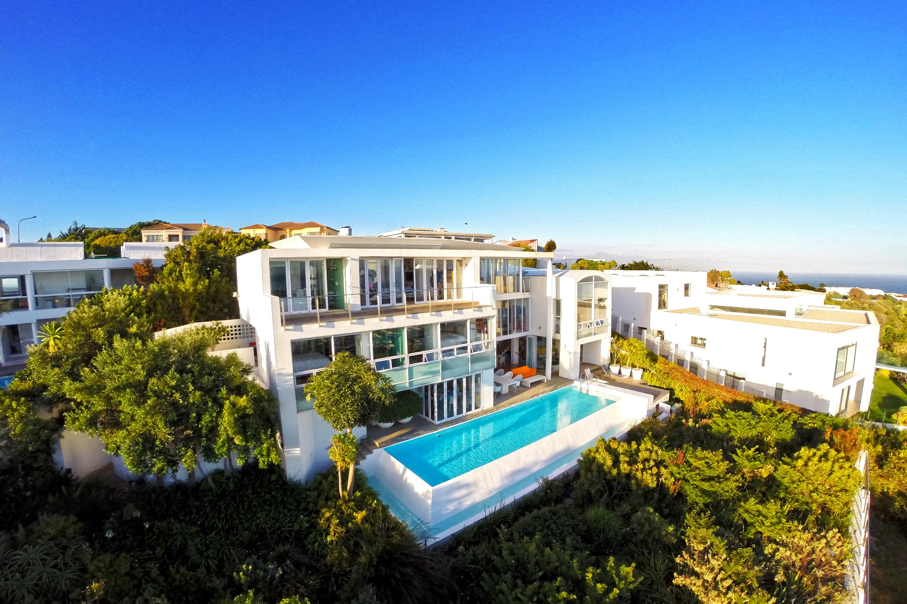 Single Family Home for Sale at Excellent sea view home-architecturally designed Plettenberg Bay, Western Cape, 6600 South Africa