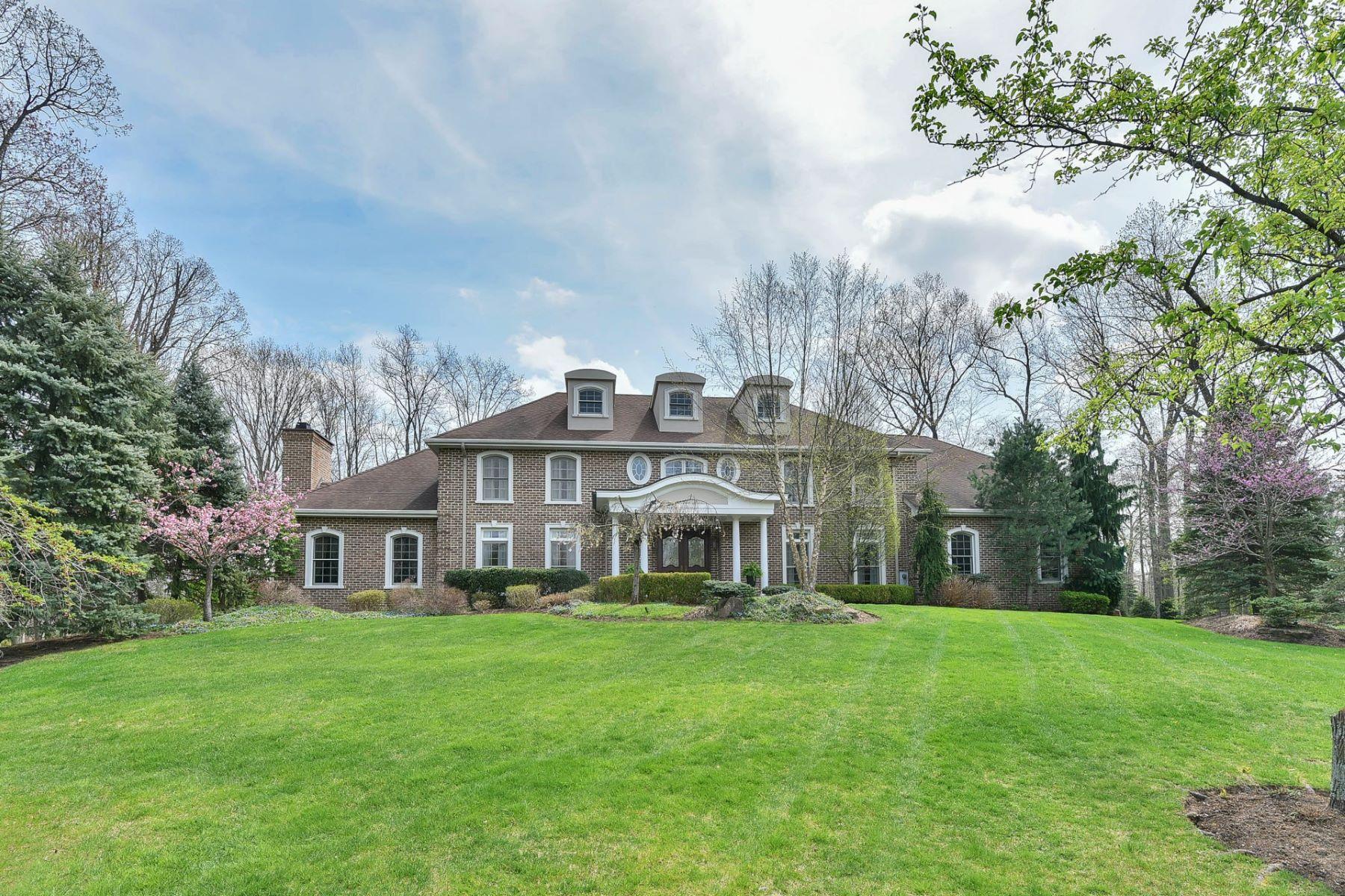Einfamilienhaus für Verkauf beim Pristine Resort Like Colonial 11 Susan Court Old Tappan, New Jersey 07675 Vereinigte Staaten