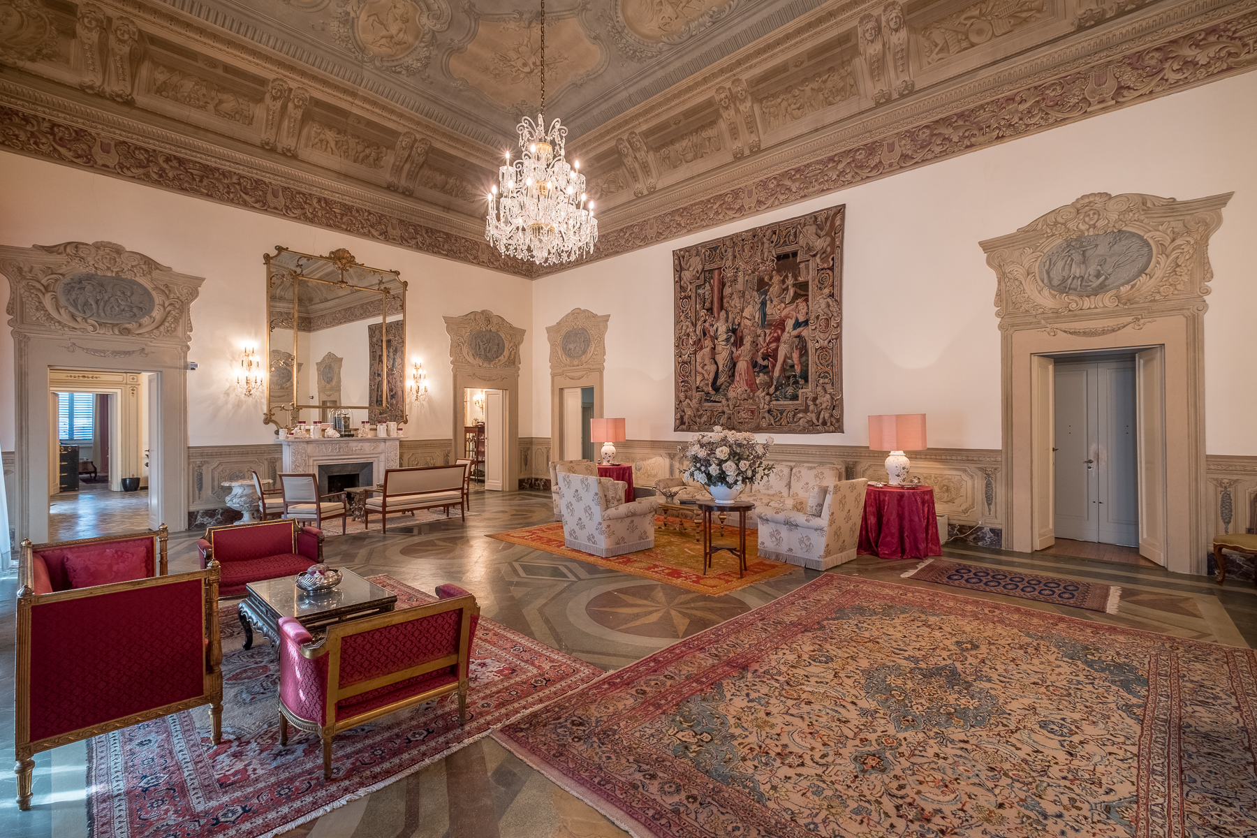 Single Family Home for Sale at Breathtaking apartment on the Florentine hills Firenze, Florence Italy